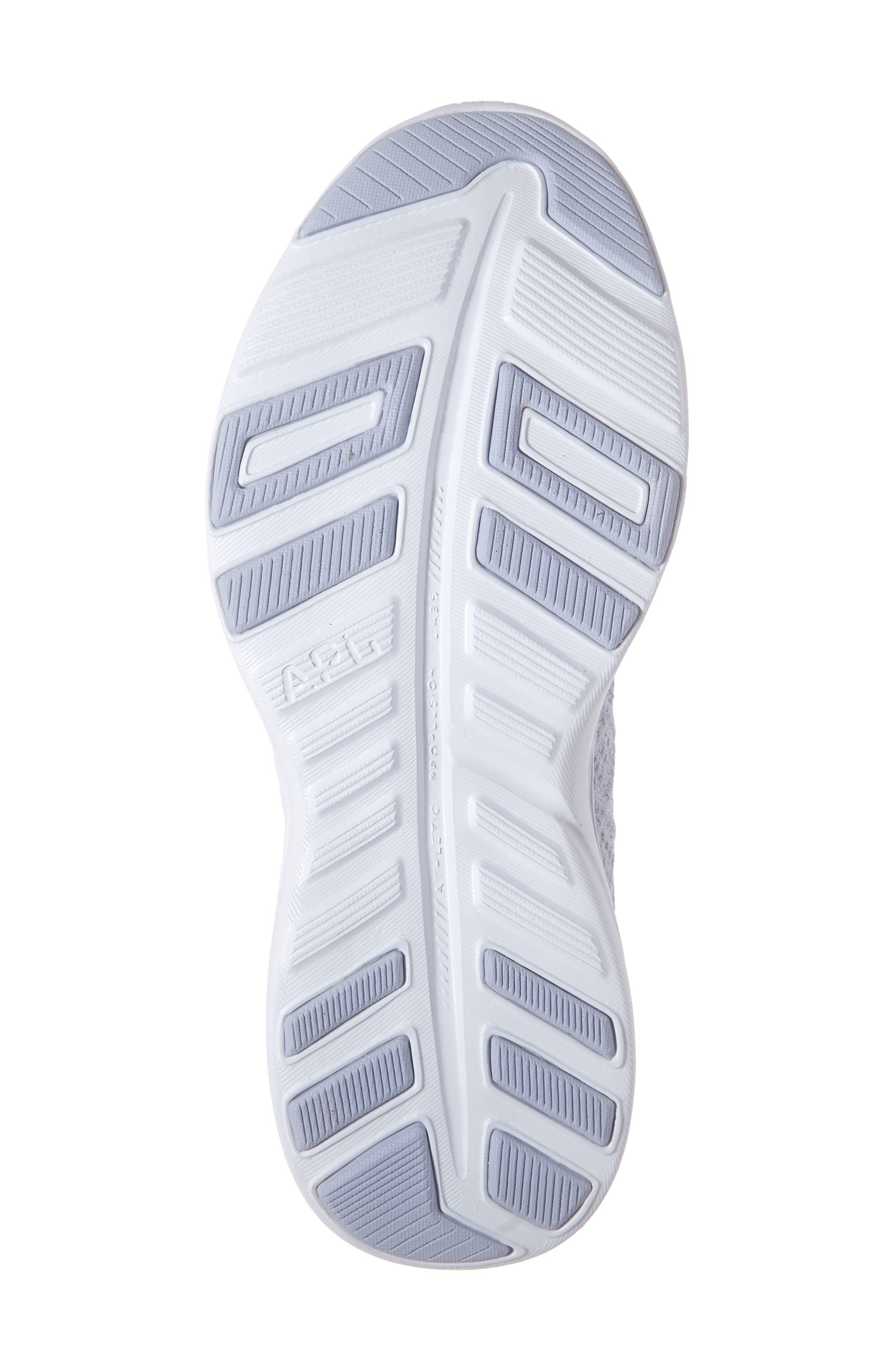 APL, TechLoom Phantom Running Shoe, Alternate thumbnail 6, color, FADED LAVENDER/ WHITE