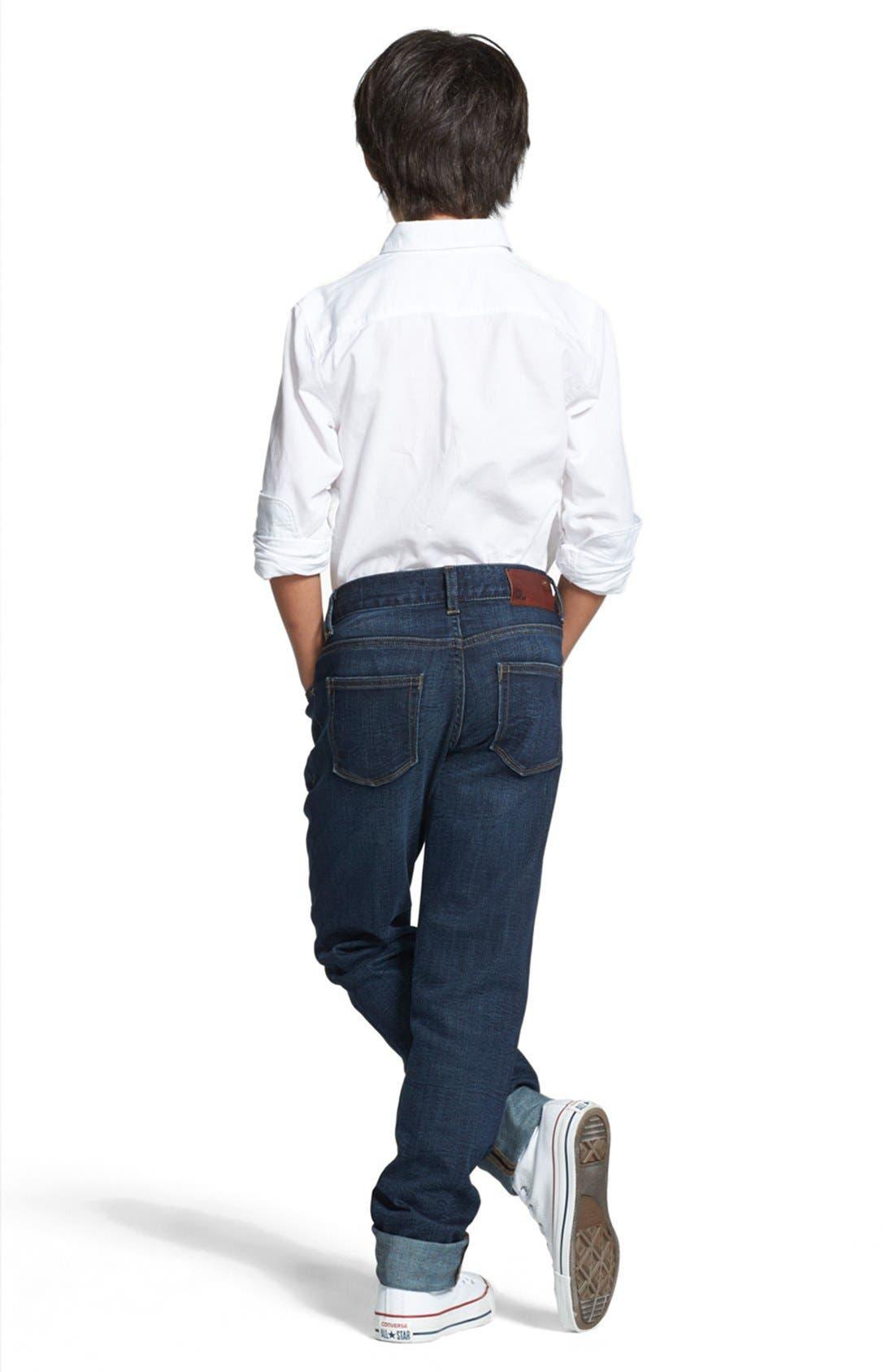 DL1961, 'Brady' Slim Fit Jeans, Alternate thumbnail 2, color, FERRET