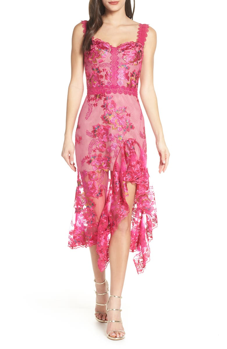 Bronx And Banco Eva Lace Cocktail Dress