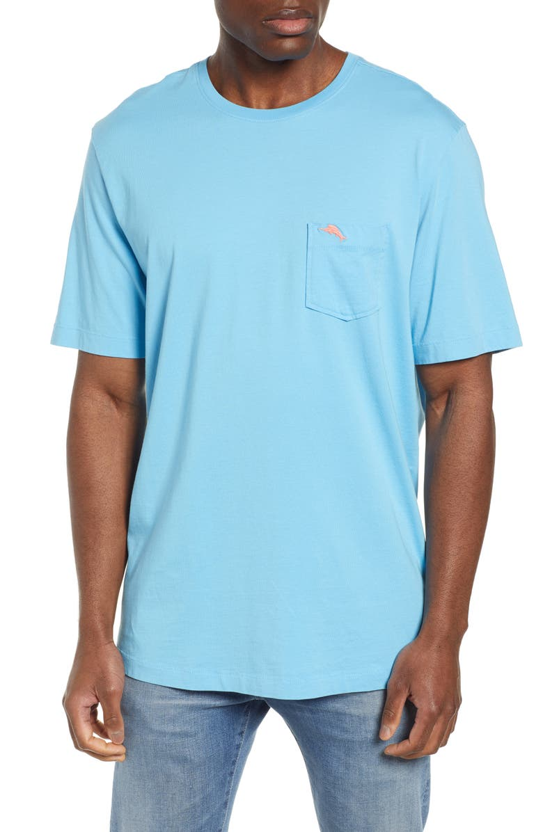 Tommy Bahama T-shirts 'NEW BALI SKY' ORIGINAL FIT CREWNECK POCKET T-SHIRT