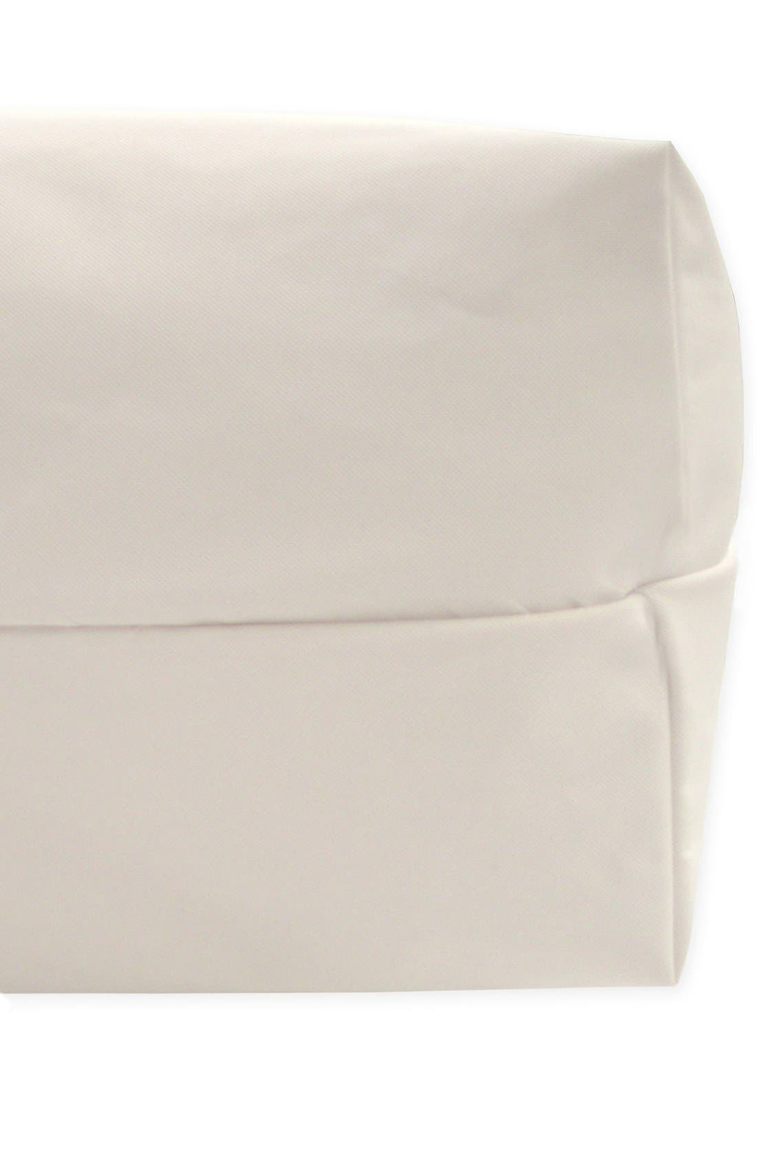 NATUREPEDIC, Lightweight Organic Cotton Classic 2-Stage Crib Mattress, Alternate thumbnail 2, color, WHITE