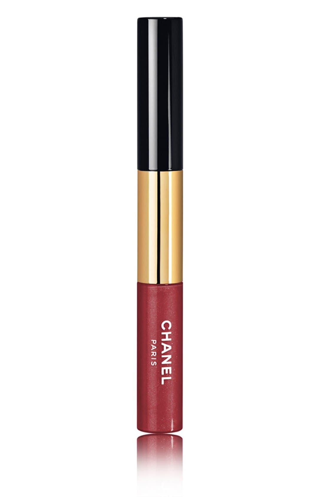 CHANEL ROUGE DOUBLE INTENSITÉ<br />Ultra Wear Lip Color, Main, color, 002