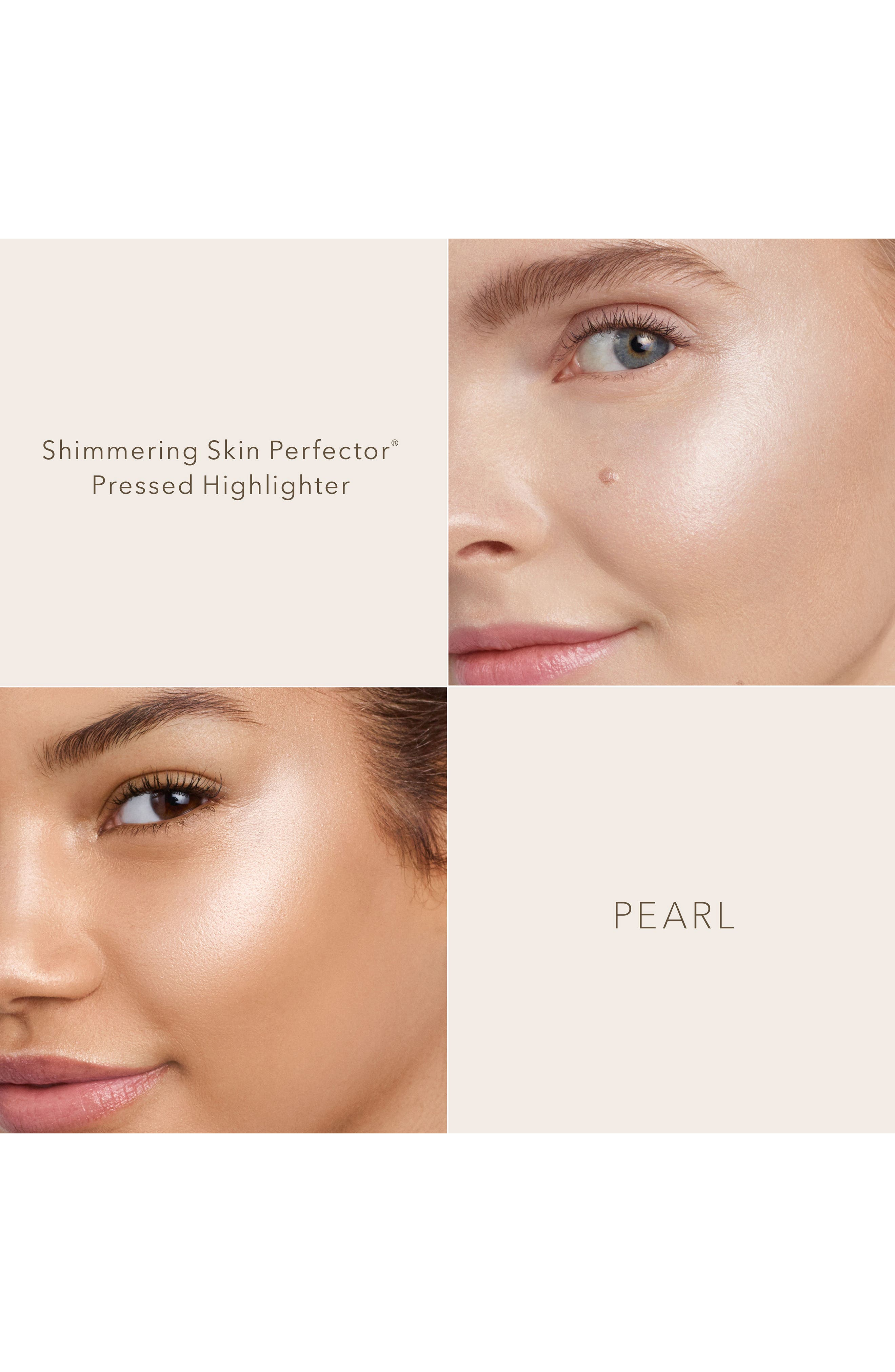 BECCA COSMETICS, BECCA Shimmering Skin Perfector Pressed Highlighter, Alternate thumbnail 4, color, PEARL
