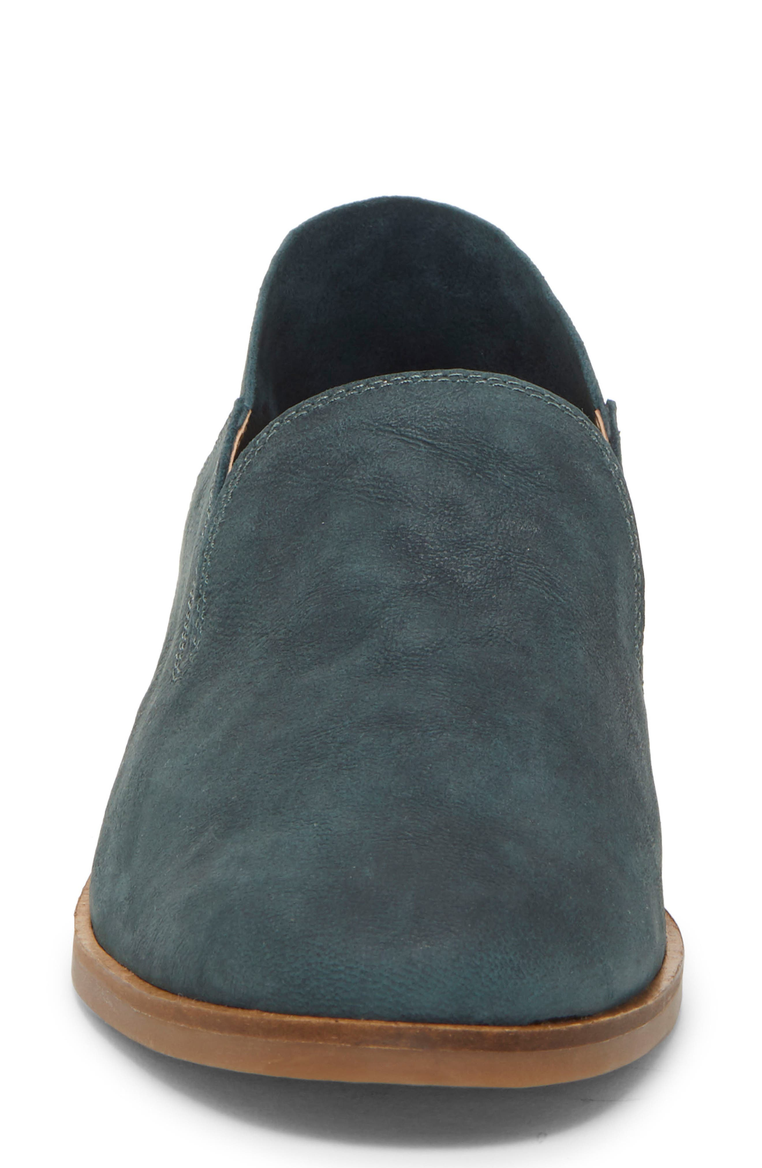 LUCKY BRAND, Cahill Flat, Alternate thumbnail 5, color, KELP LEATHER