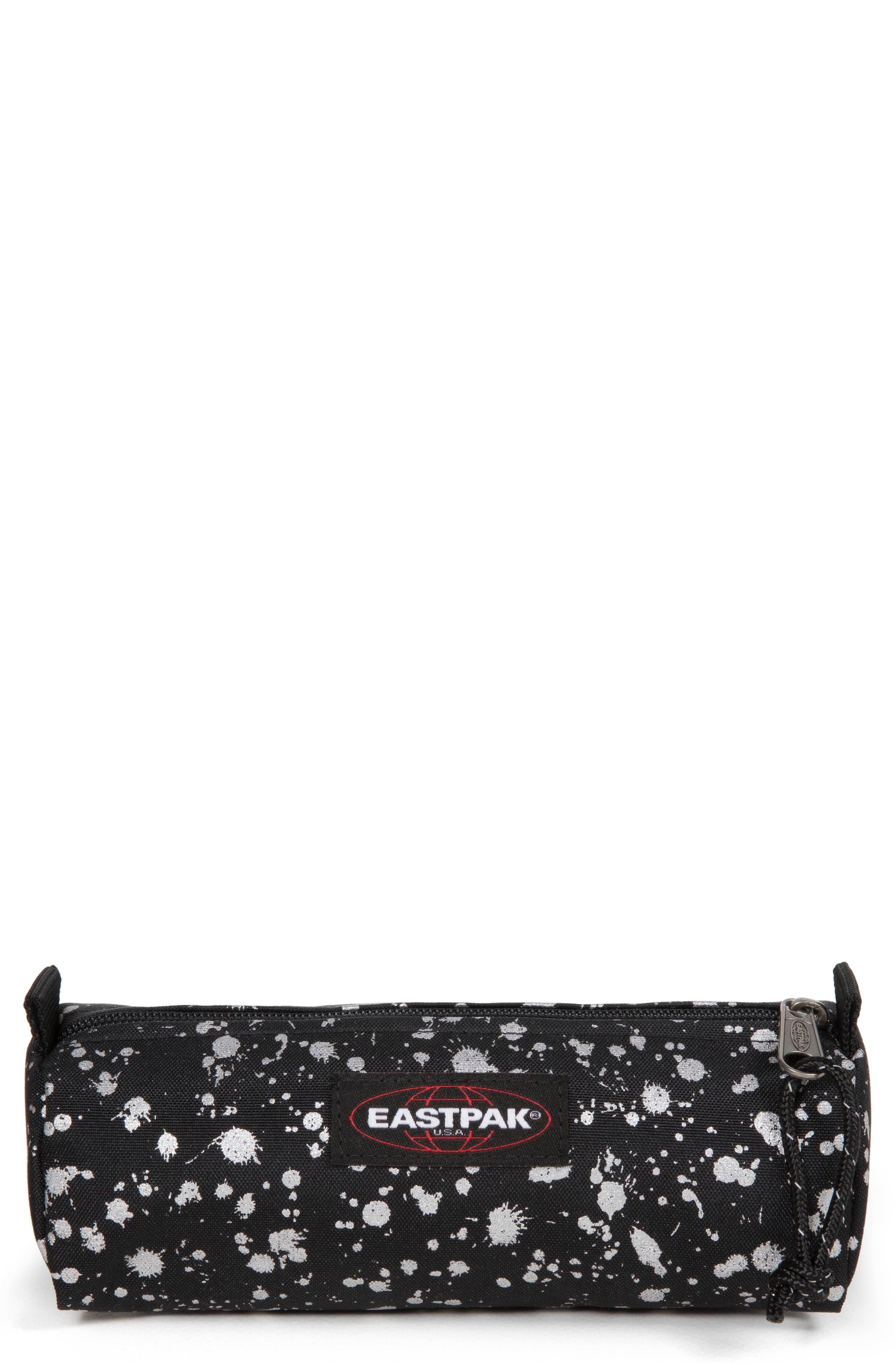 EASTPAK Benchmark Large Pencil Case, Main, color, SILVER MIST