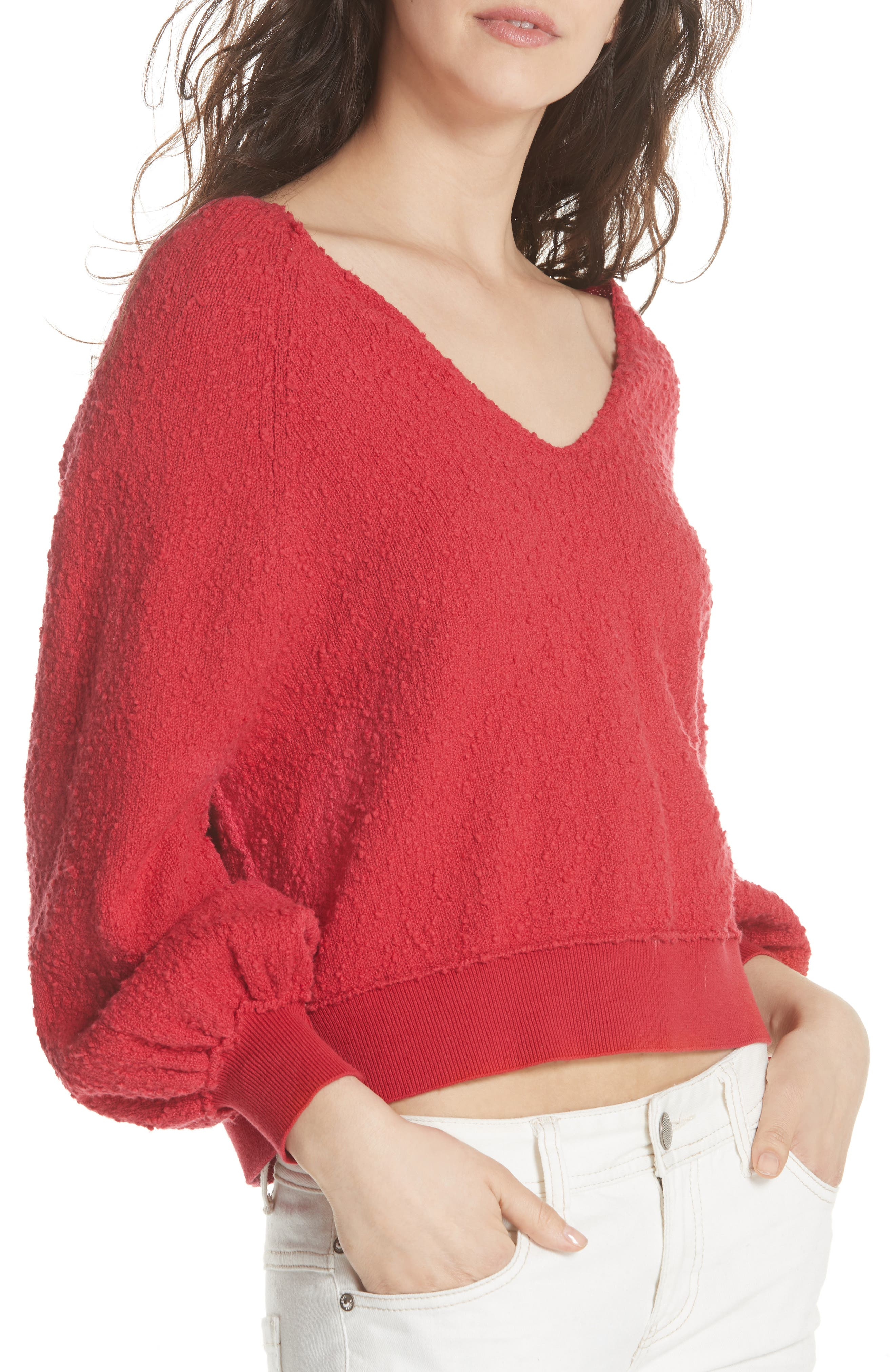 FREE PEOPLE, Found My Friend Sweater, Alternate thumbnail 4, color, 600