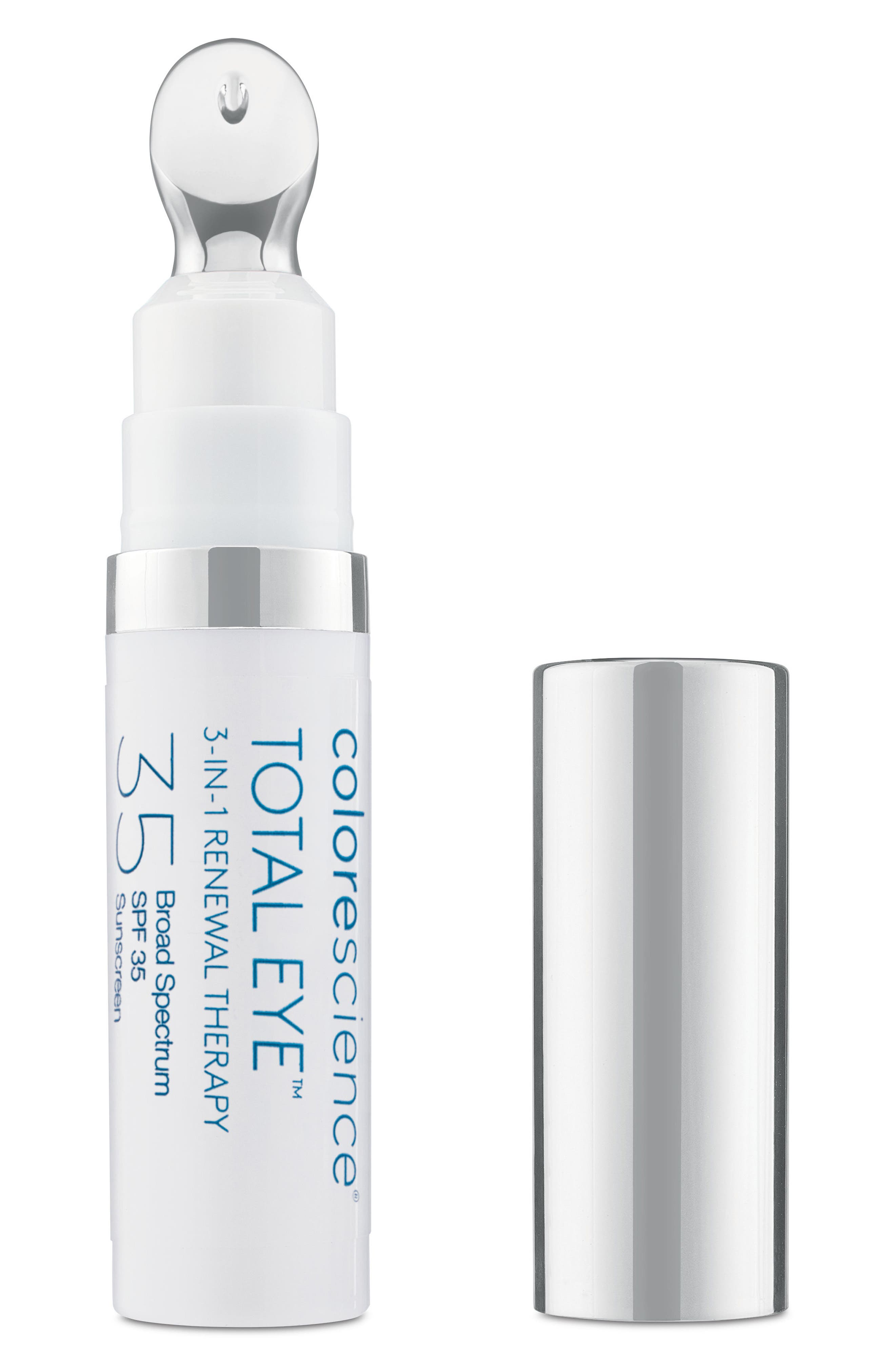 COLORESCIENCE,  Total Eye 3-in-1 Renewal Therapy SPF 35, Main thumbnail 1, color, NO COLOR