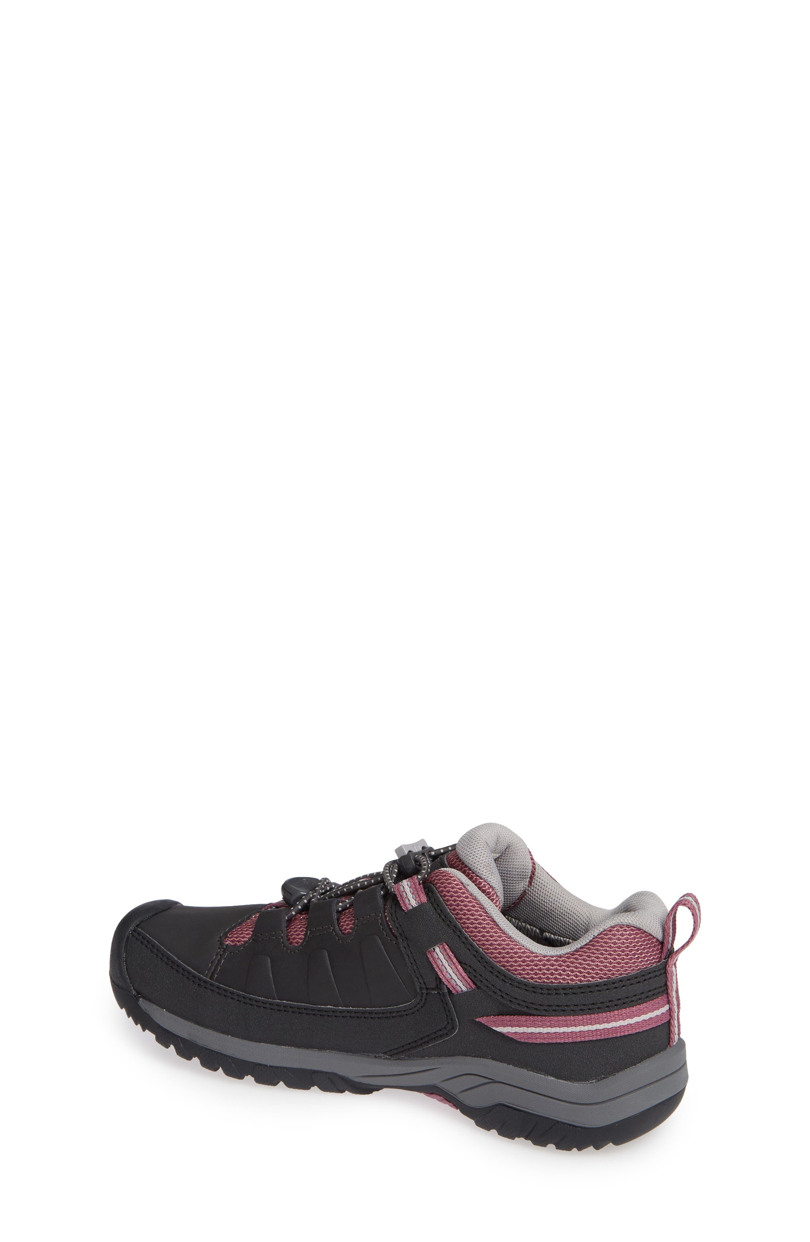 KEEN, Targhee Low Waterproof Boots, Alternate thumbnail 2, color, RAVEN/ TULIPWOOD/ TULIPWOOD