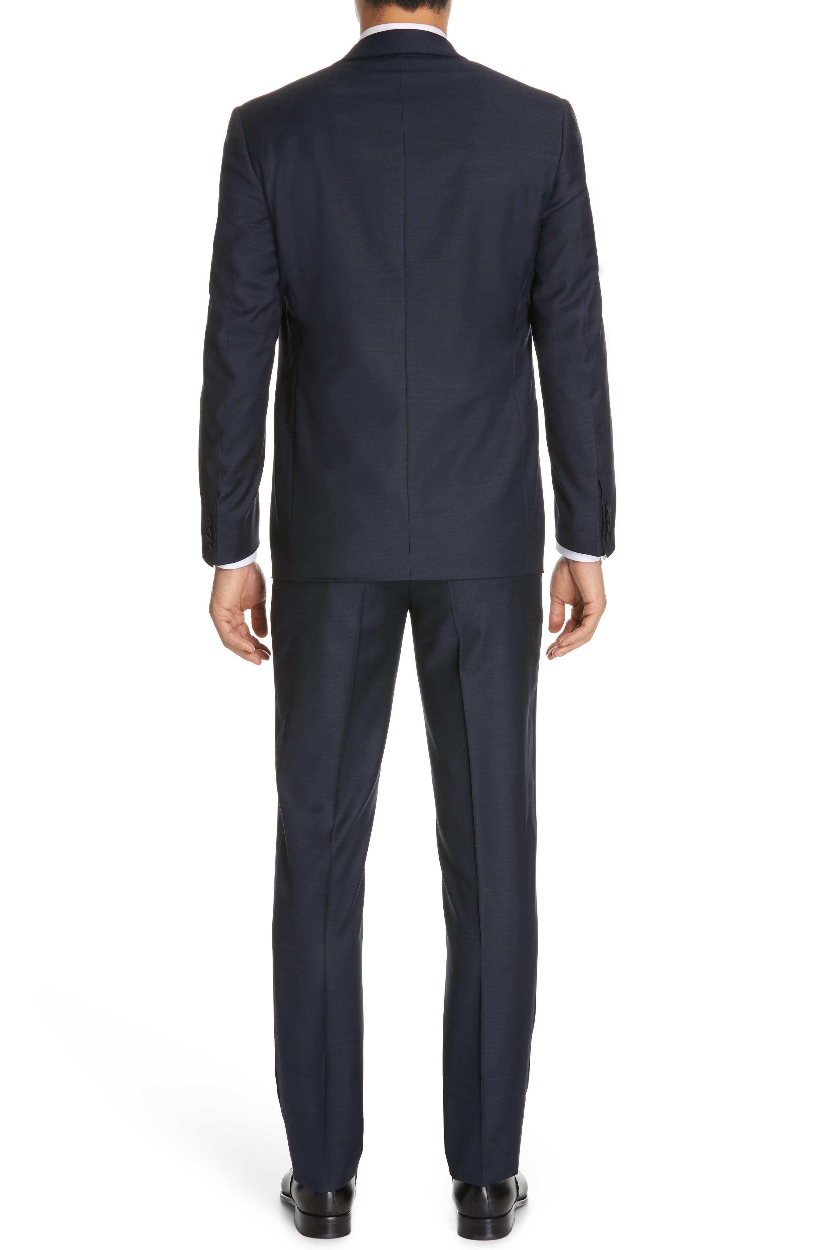 CANALI, Venieza Classic Fit Wool Tuxedo, Alternate thumbnail 2, color, NAVY