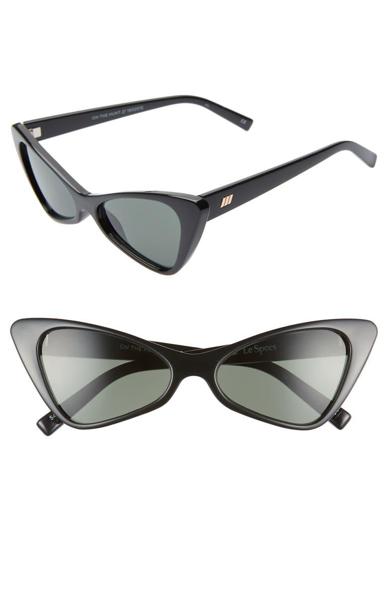 48f84120057e Le Specs On the Hunt 54mm Cat Eye Sunglasses