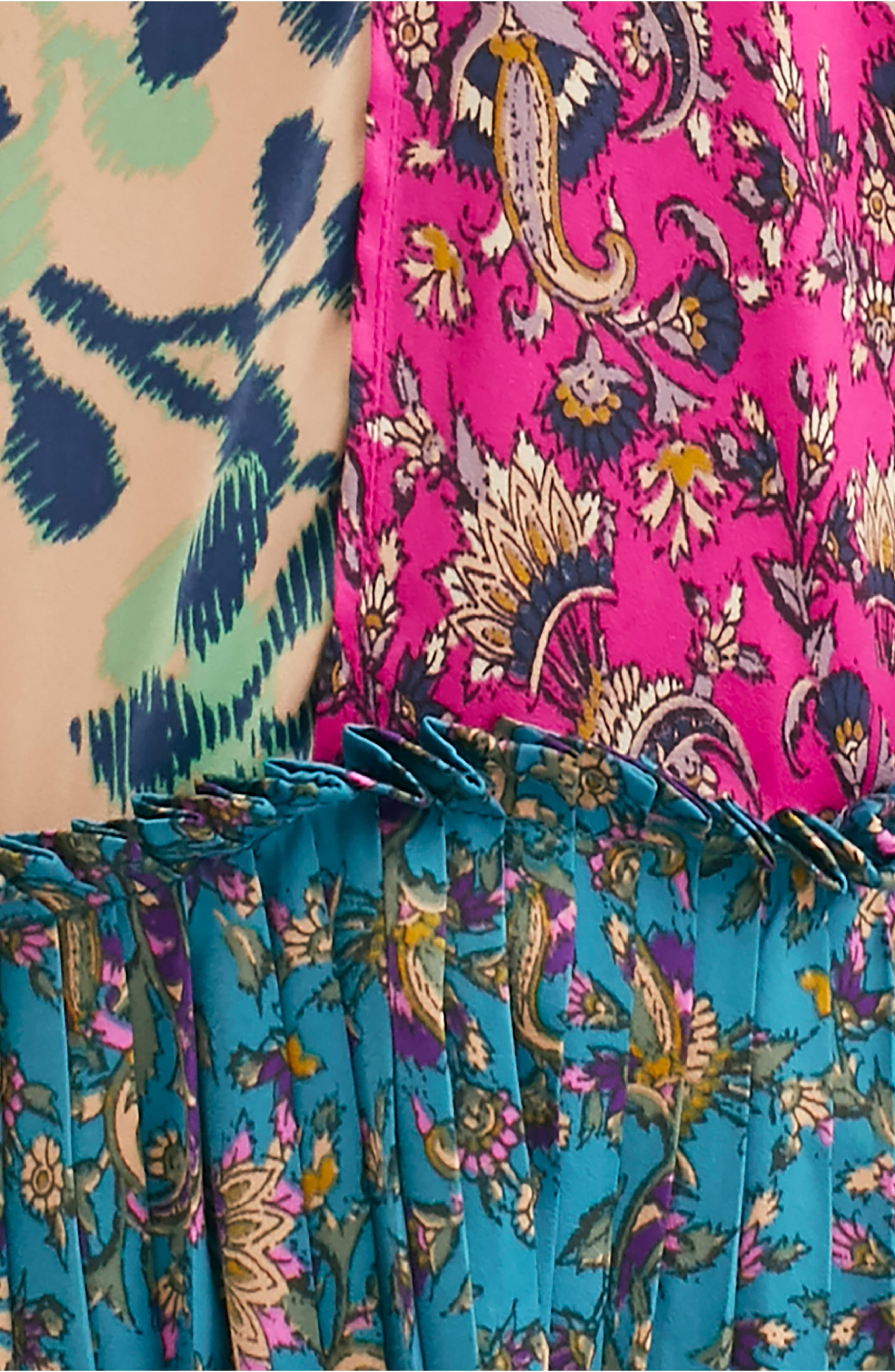 FREE PEOPLE, What You Want Maxi Dress, Alternate thumbnail 7, color, MULTI