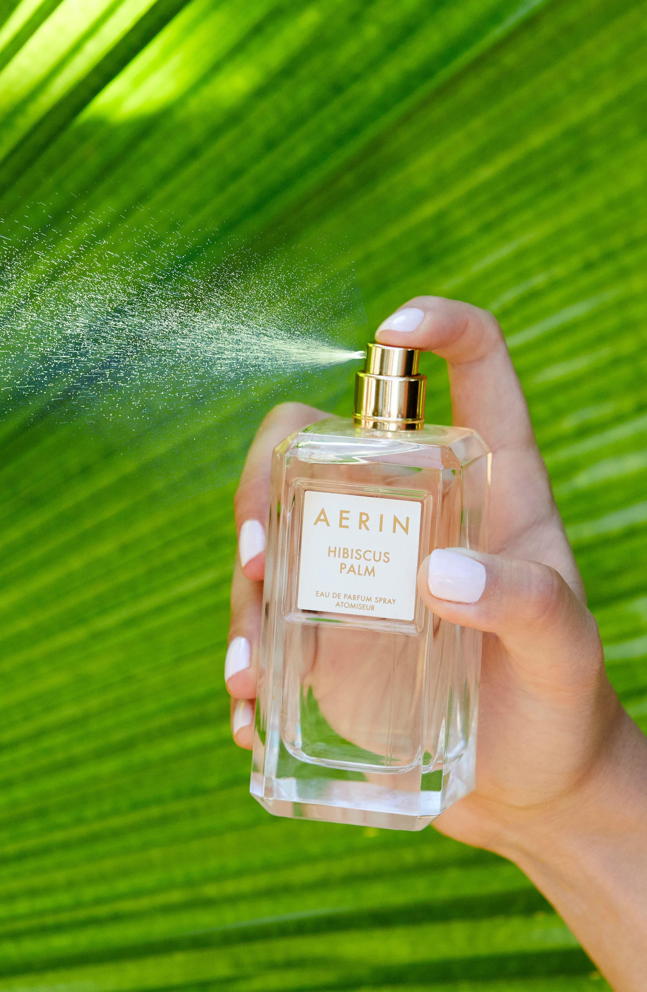 ESTÉE LAUDER, Aerin Beauty Hibiscus Palm Eau de Parfum, Alternate thumbnail 4, color, NO COLOR
