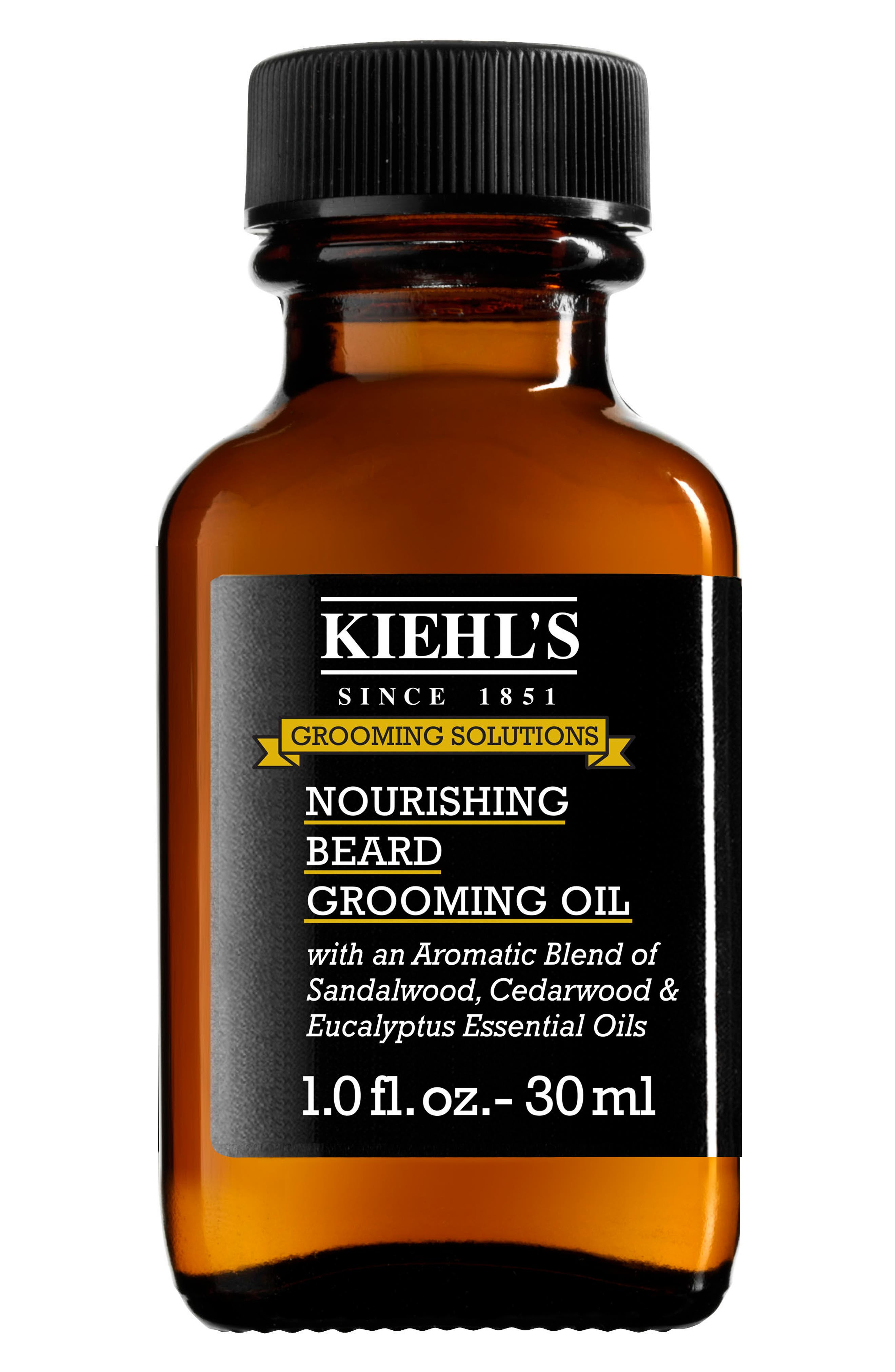 KIEHL'S SINCE 1851, Nourishing Beard Grooming Oil, Main thumbnail 1, color, NO COLOR