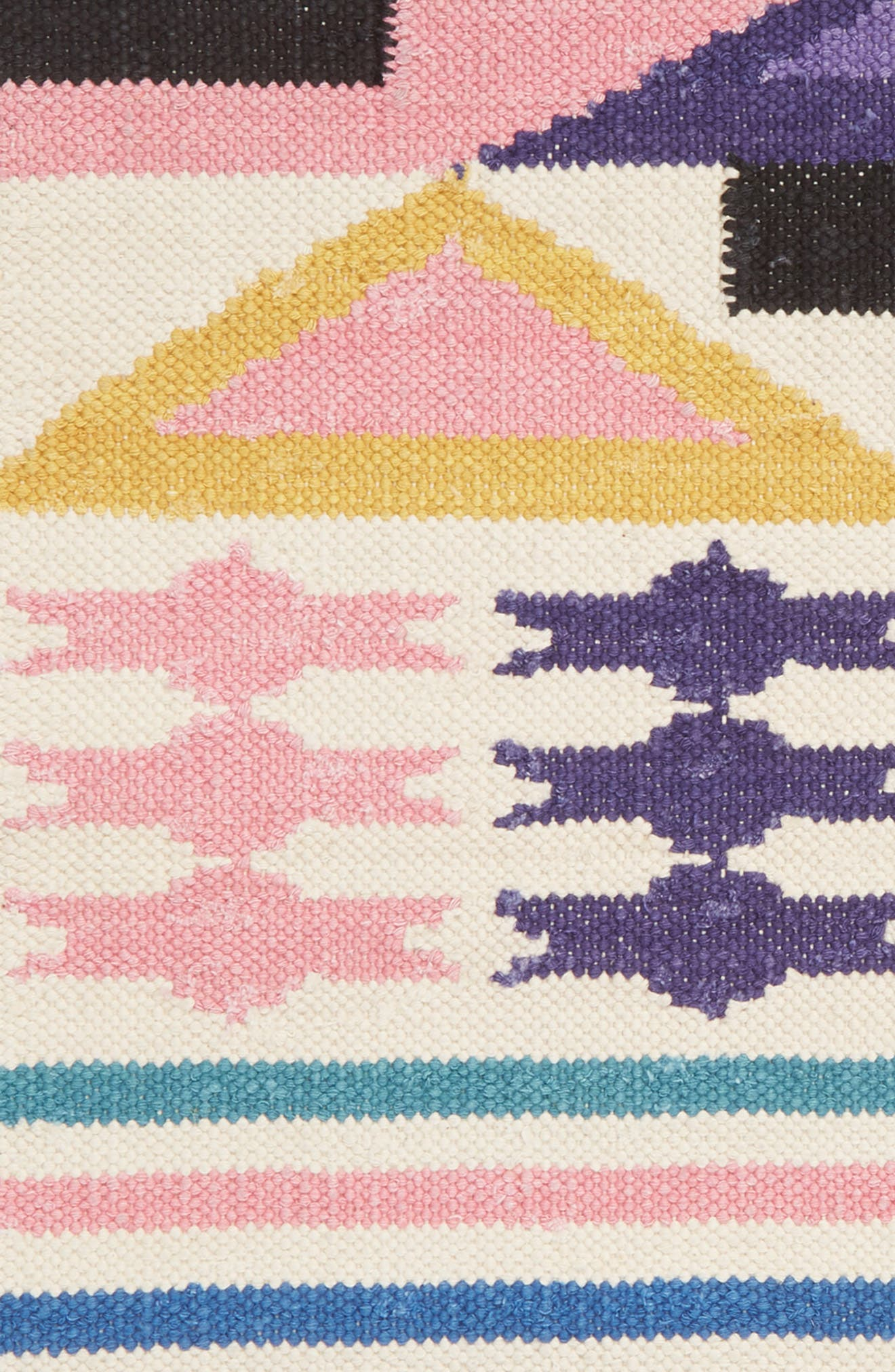 AELFIE, Heat Wave In Rajasthan Flat Weave Rug, Alternate thumbnail 2, color, HEAT WAVE IN RAJASTHAN