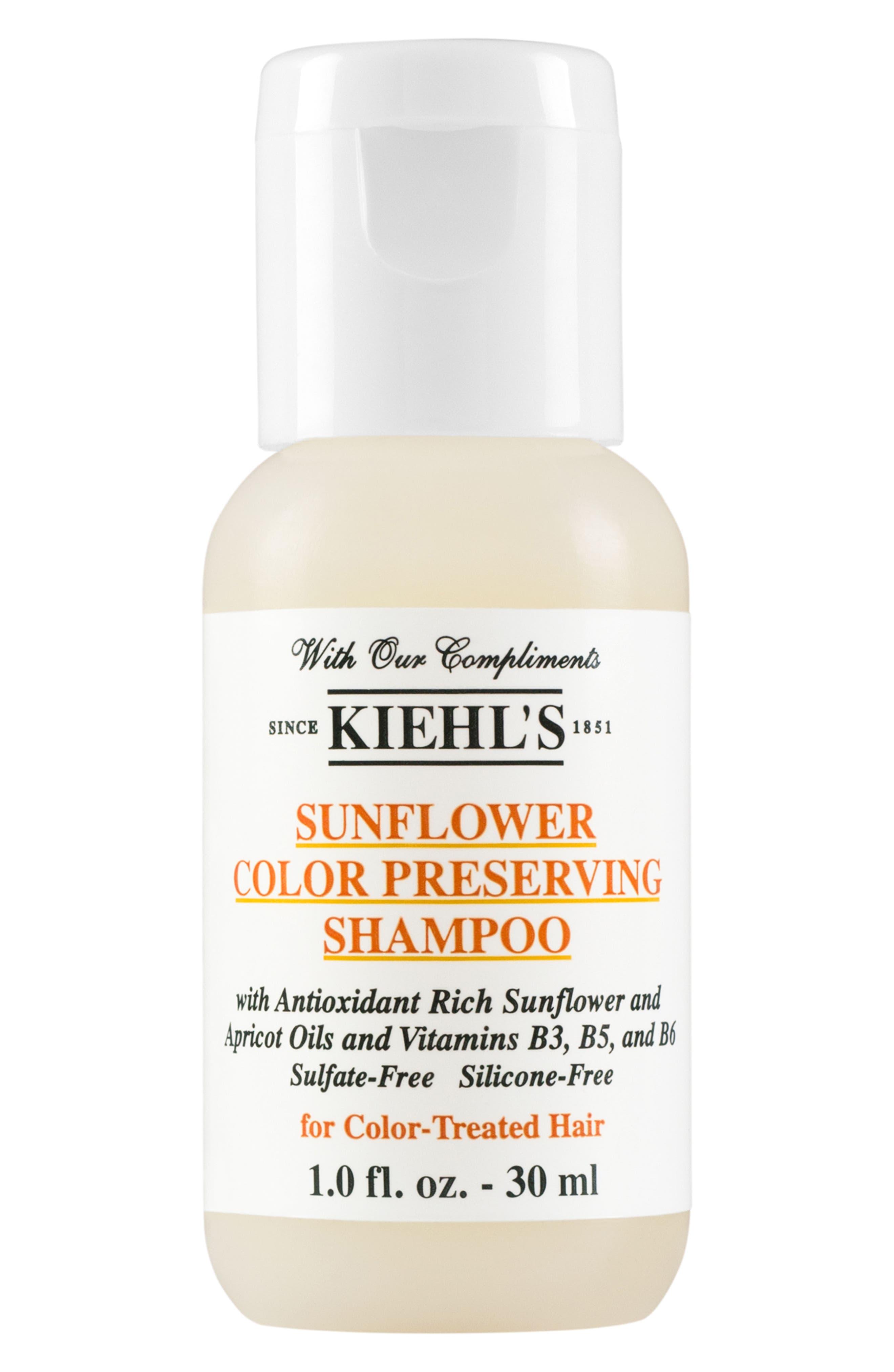 KIEHL'S SINCE 1851, Sunflower Color Preserving Shampoo, Alternate thumbnail 4, color, NO COLOR