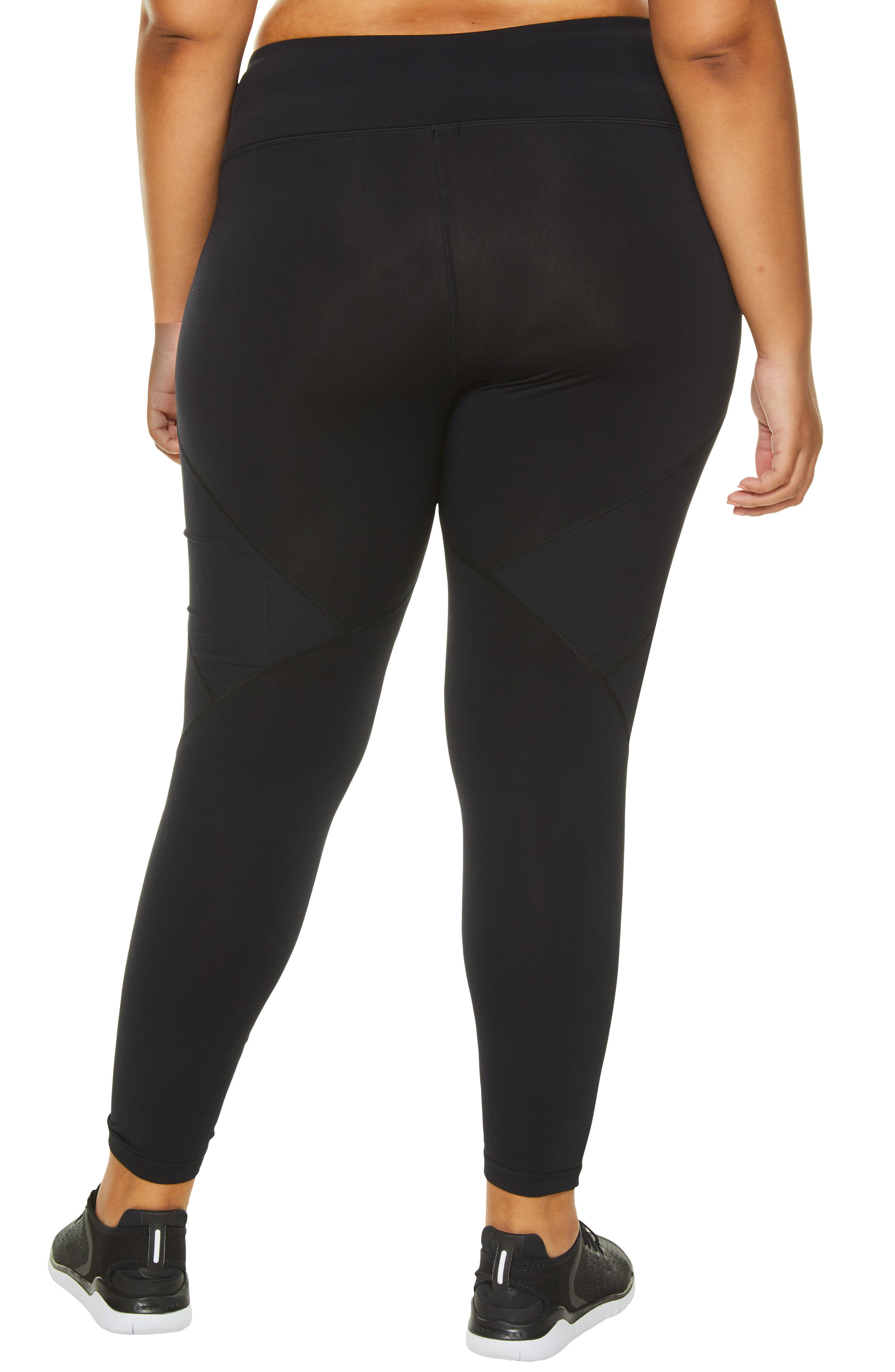 SHAPE ACTIVEWEAR, Blaze Fleece Leggings, Alternate thumbnail 2, color, 001