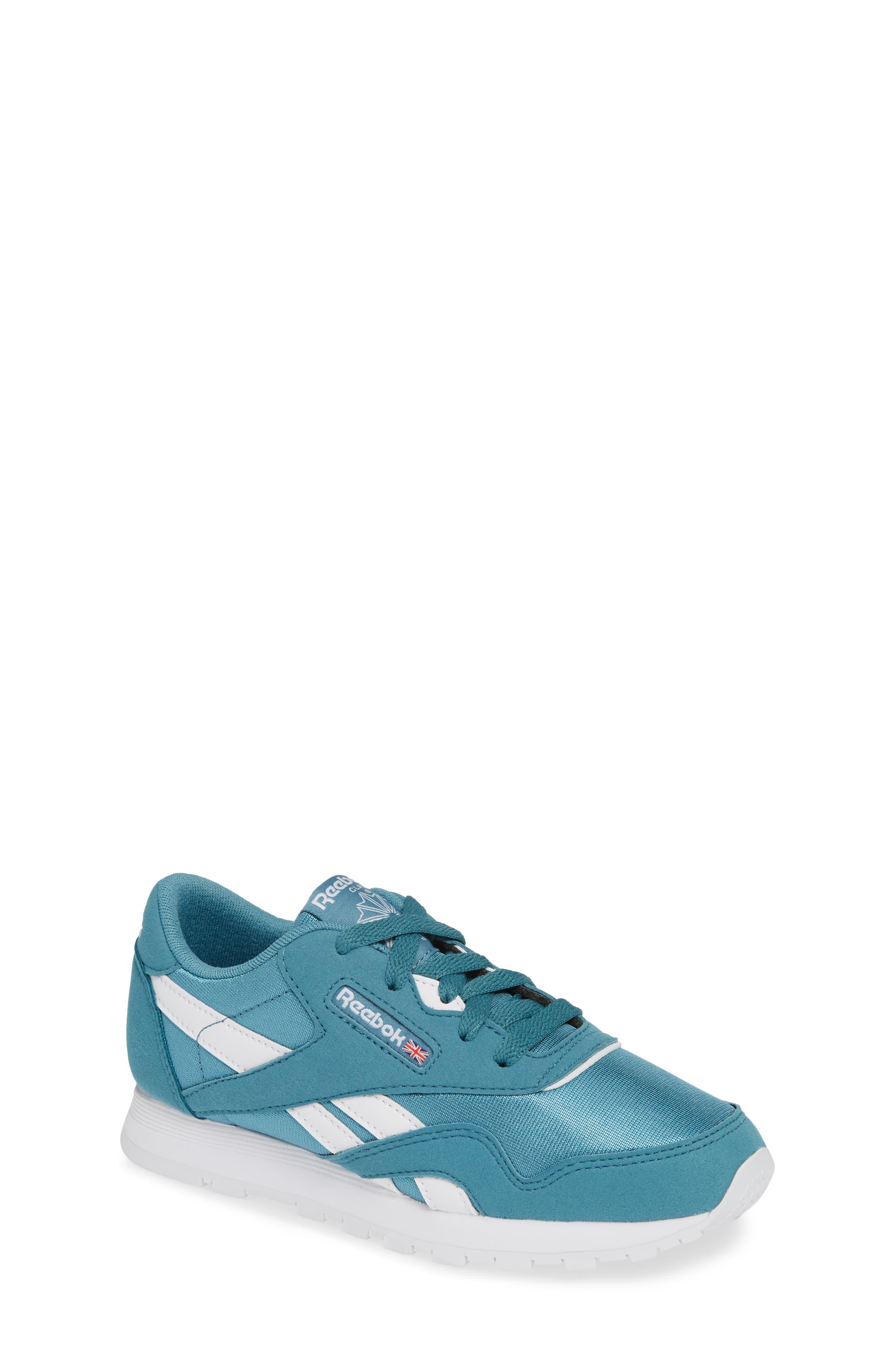 REEBOK, Classic Nylon Sneaker, Main thumbnail 1, color, 406