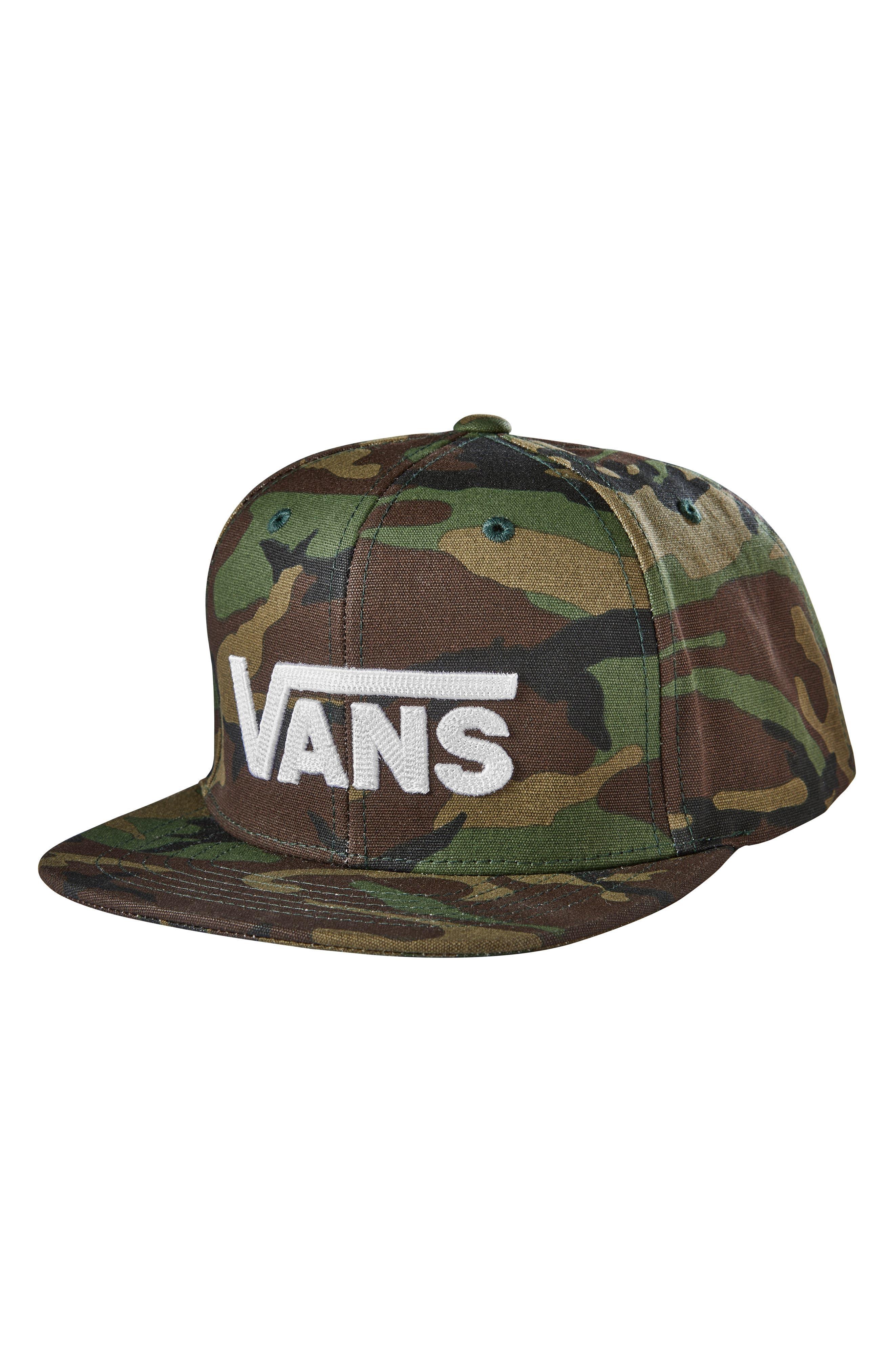 VANS Drop VII Snapback Baseball Cap, Main, color, 300
