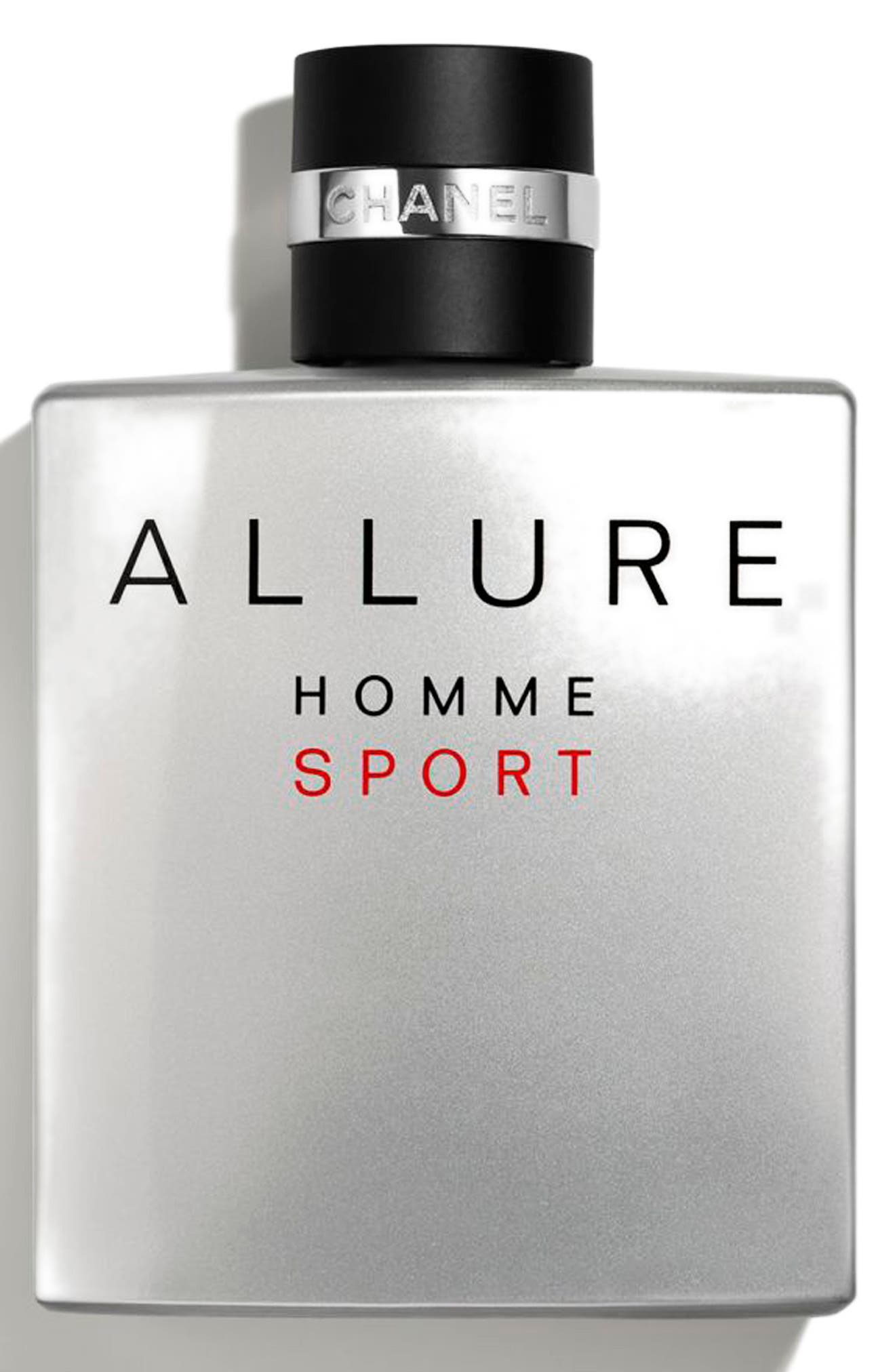CHANEL, ALLURE HOMME SPORT Eau de Toilette Spray, Alternate thumbnail 2, color, NO COLOR