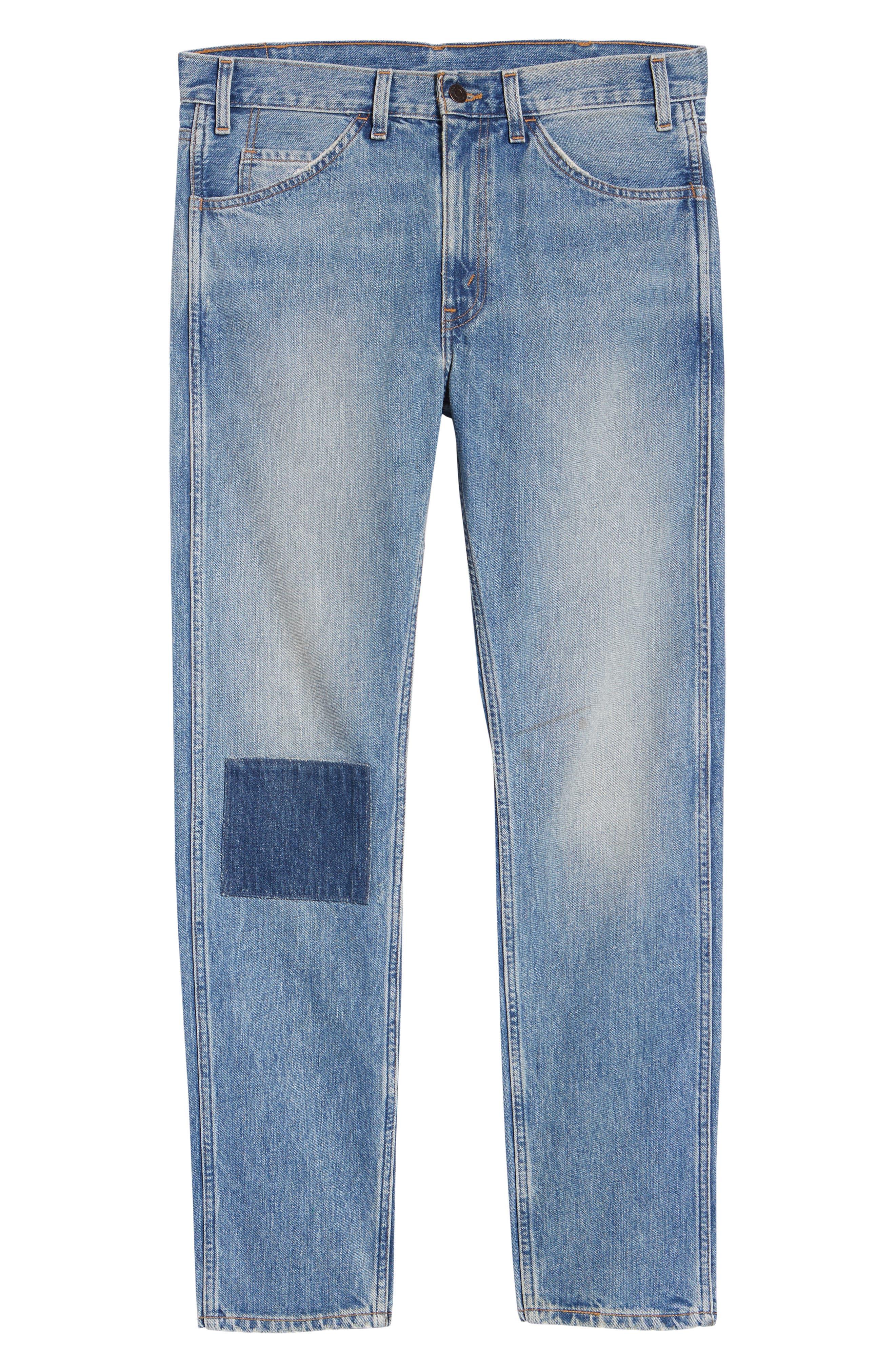 LEVI'S<SUP>®</SUP> VINTAGE CLOTHING, 1969 606<sup>™</sup> Slim Fit Jeans, Alternate thumbnail 6, color, 423