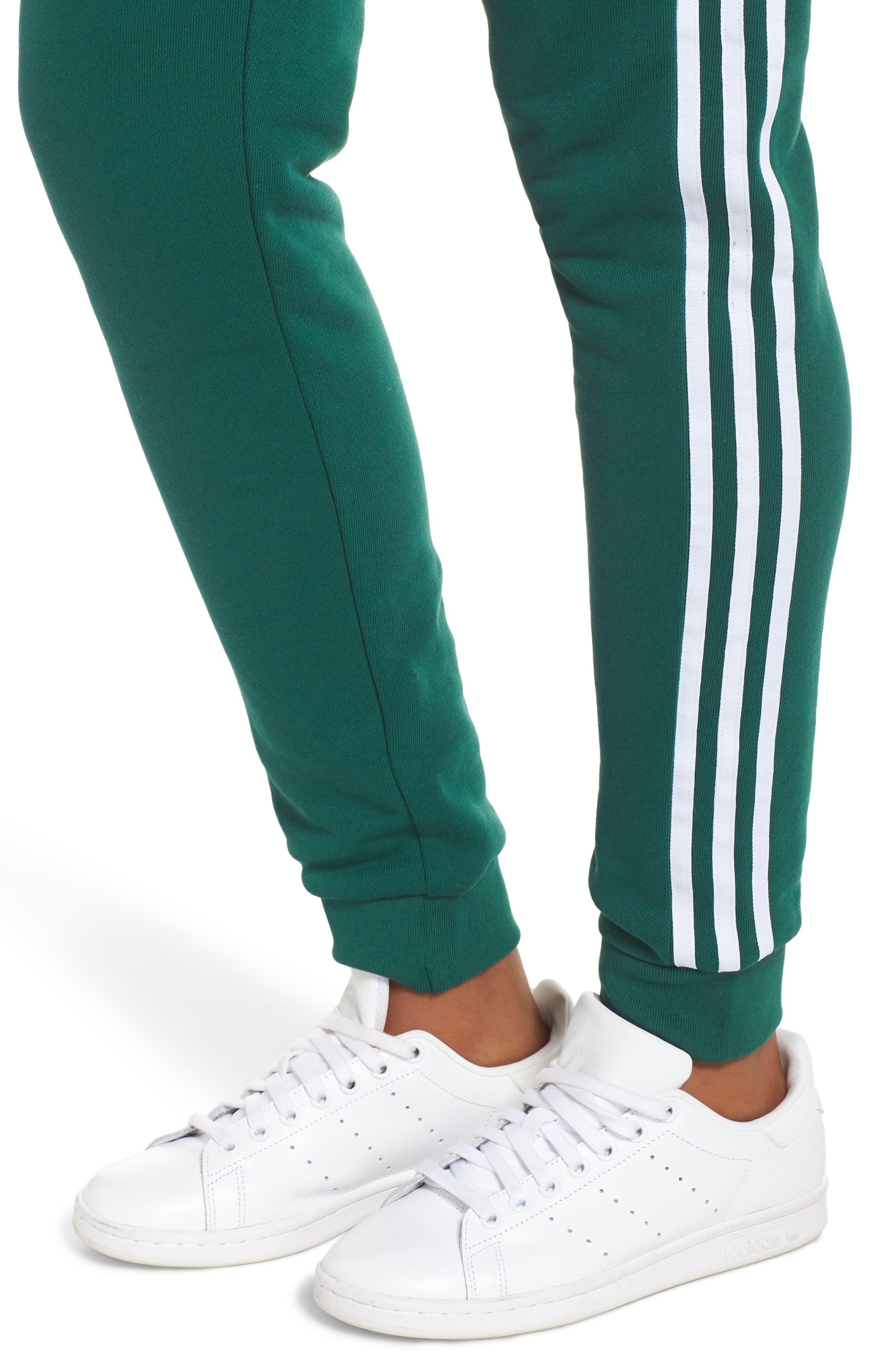 ADIDAS ORIGINALS, Cuffed Track Pants, Alternate thumbnail 5, color, 305