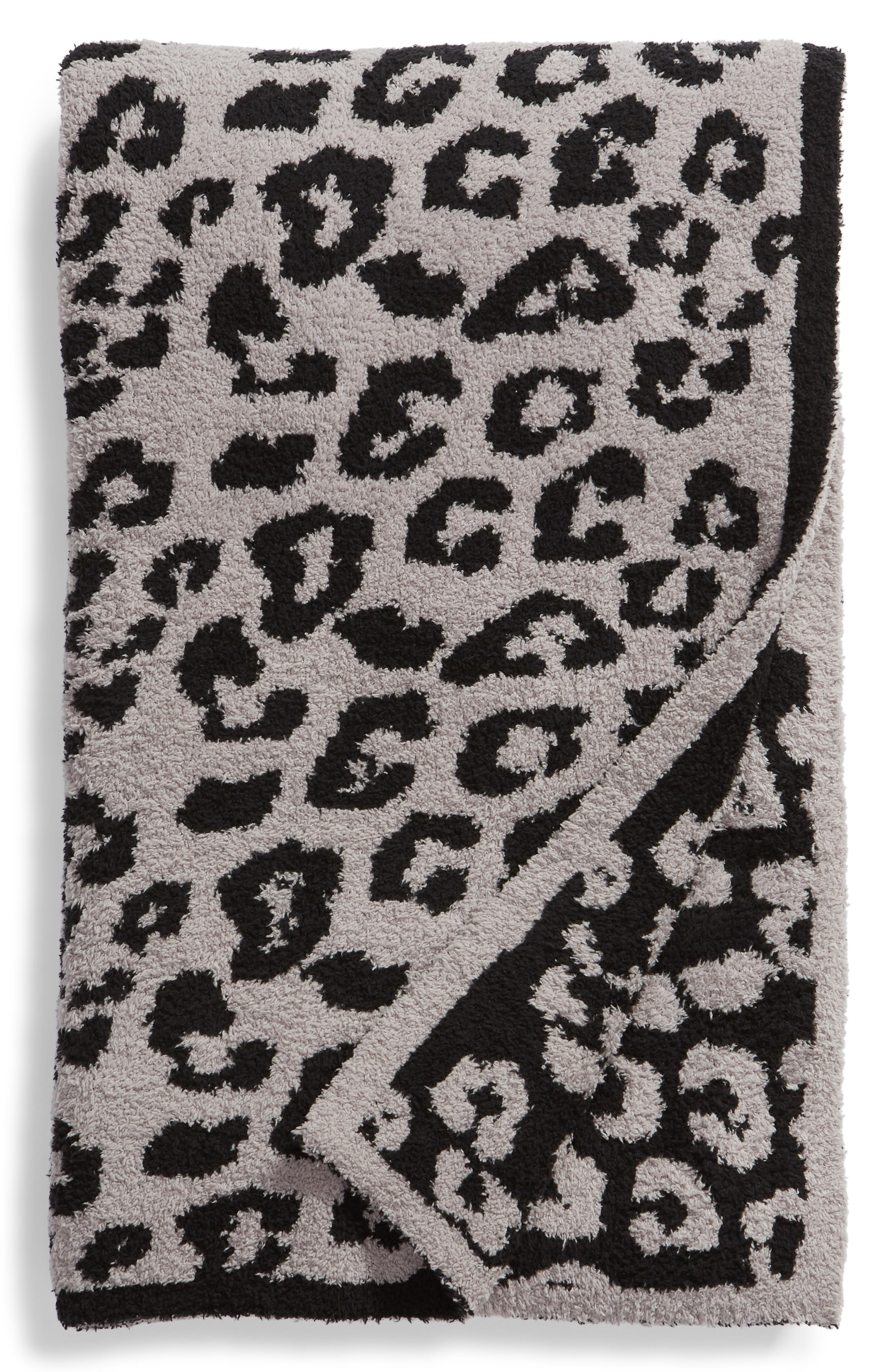 BAREFOOT DREAMS<SUP>®</SUP>, CozyChic 'In the Wild' Throw Blanket, Main thumbnail 1, color, 021