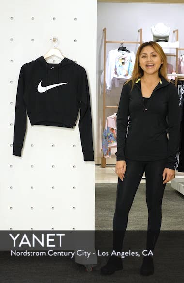 Sportswear Women's Crop Hoodie, sales video thumbnail