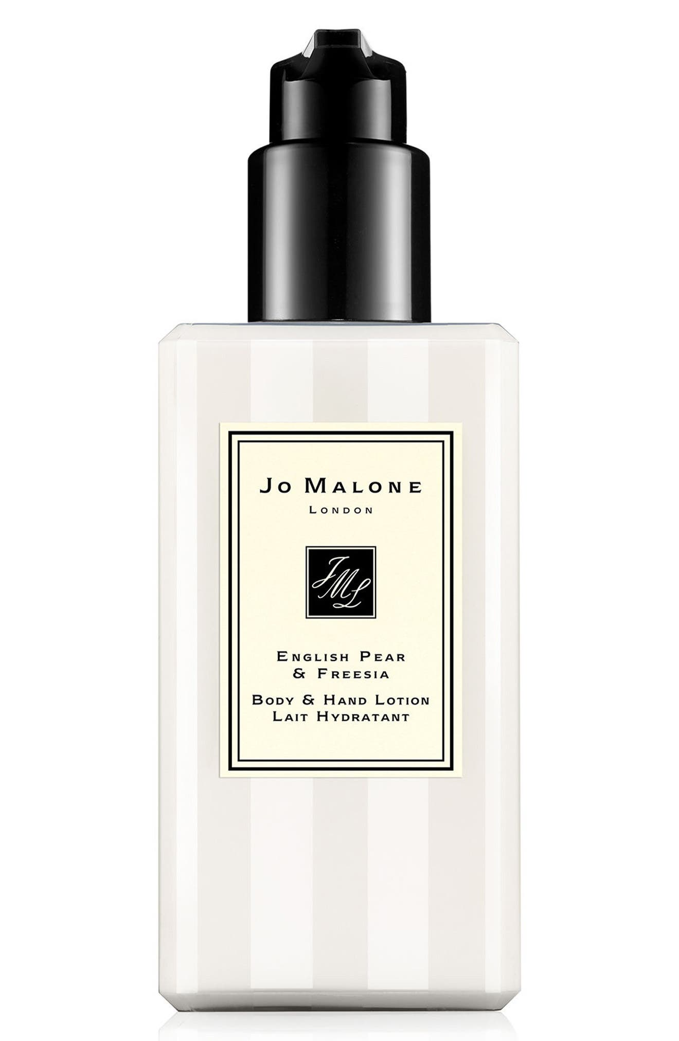JO MALONE LONDON<SUP>™</SUP> English Pear & Freesia Body & Hand Lotion, Main, color, NO COLOR