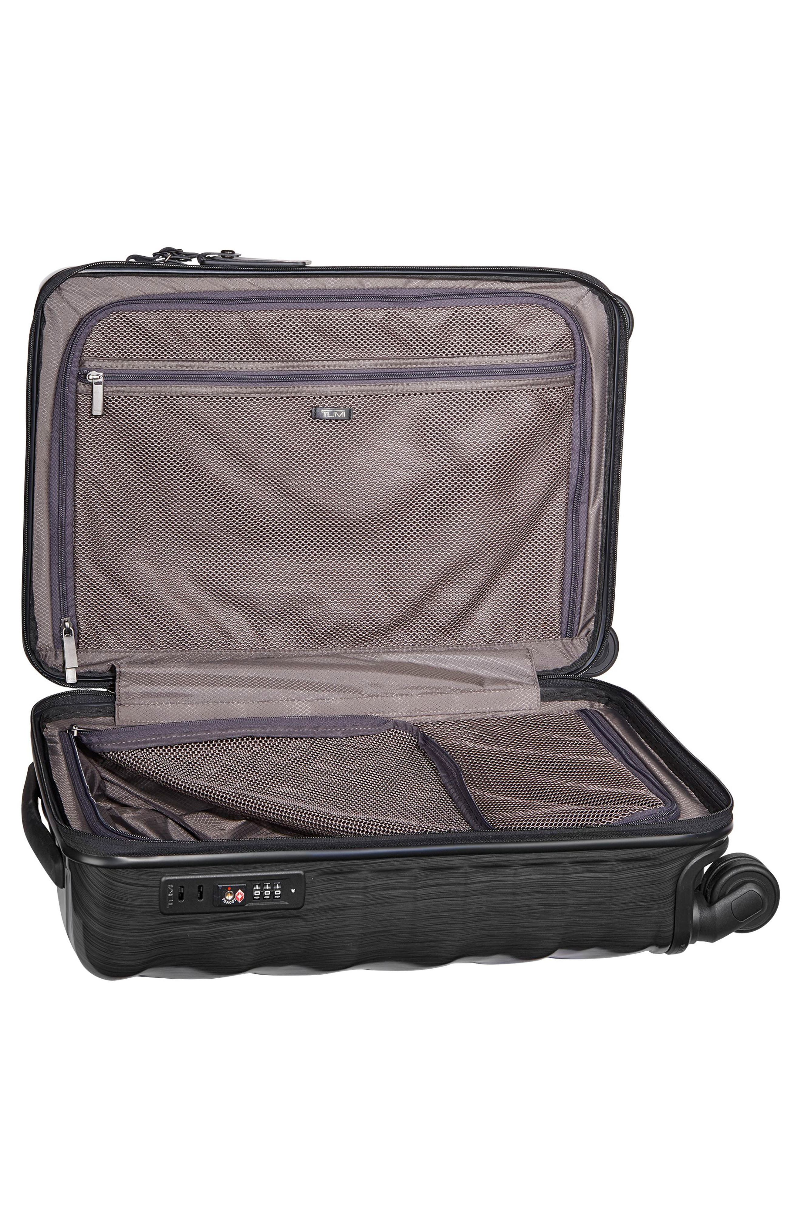 TUMI, 19 Degree 21-Inch International Wheeled Carry-On, Alternate thumbnail 2, color, 001