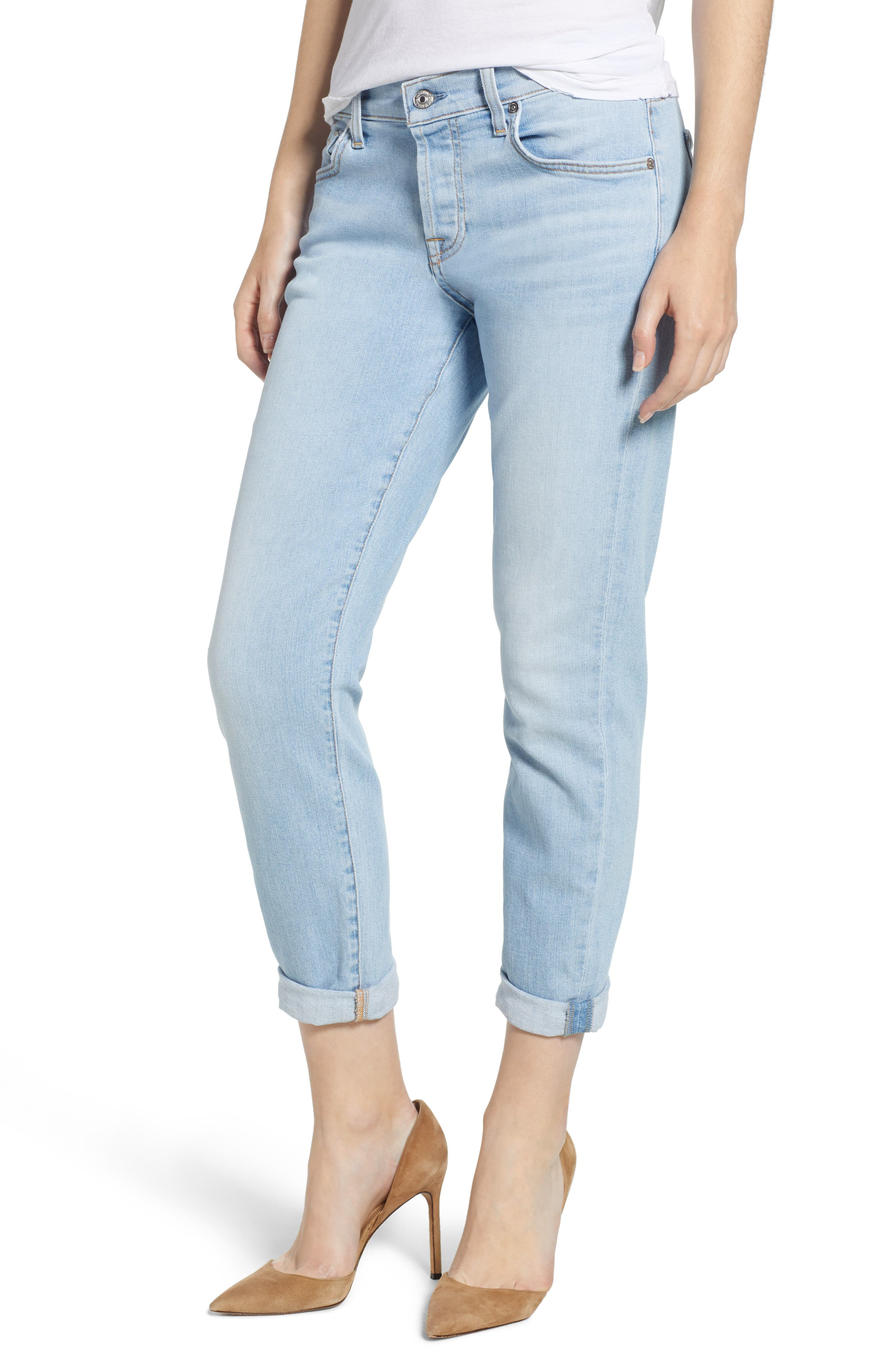 7 FOR ALL MANKIND<SUP>®</SUP>, 'Josefina' Boyfriend Jeans, Main thumbnail 1, color, 408