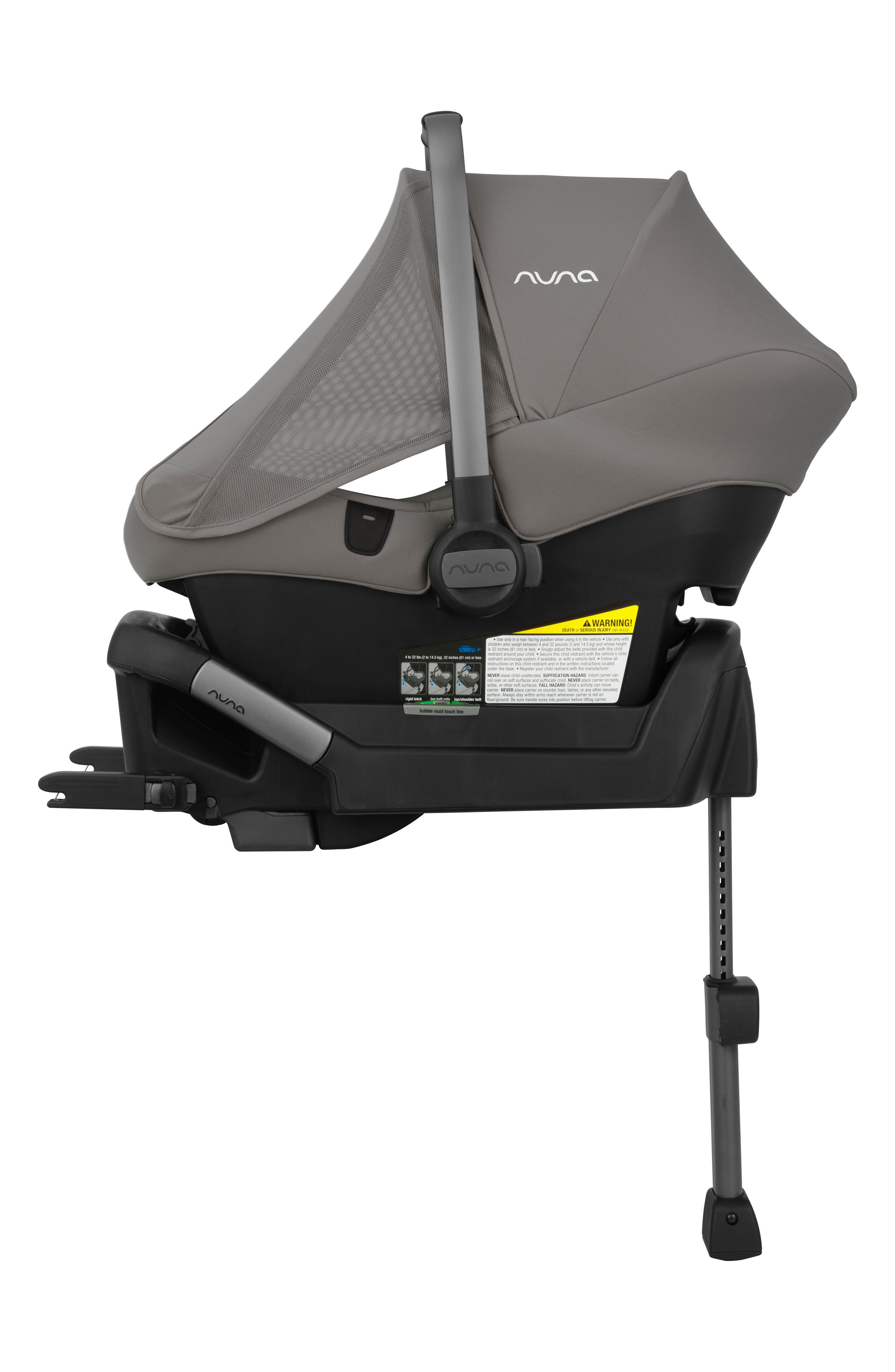 NUNA, PIPA<sup>™</sup> Lite LX Infant Car Seat & Base, Alternate thumbnail 7, color, FROST