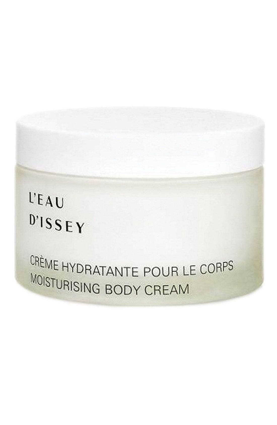 ISSEY MIYAKE, 'L'Eau d'Issey' Moisturizing Body Cream, Main thumbnail 1, color, NO COLOR