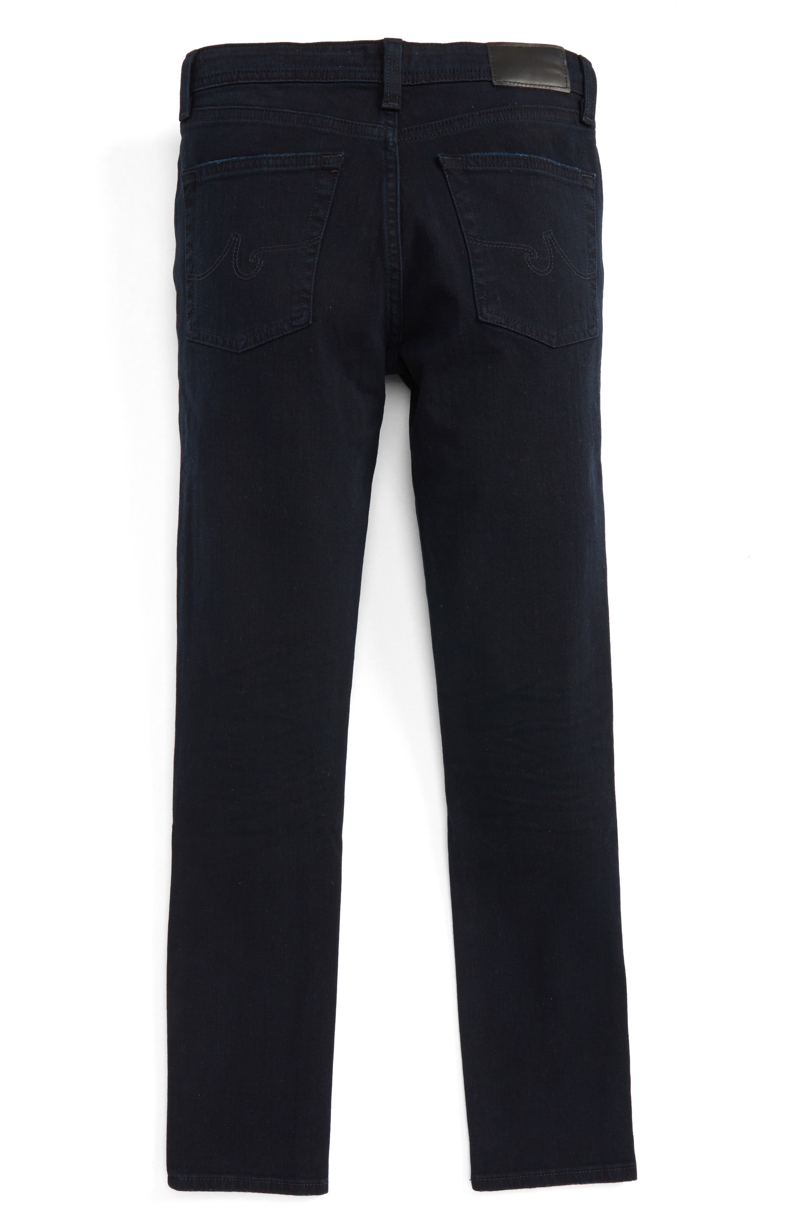 AG ADRIANO GOLDSCHMIED KIDS, The Kingston Slim Jeans, Alternate thumbnail 2, color, 2 YEARS ABACUS