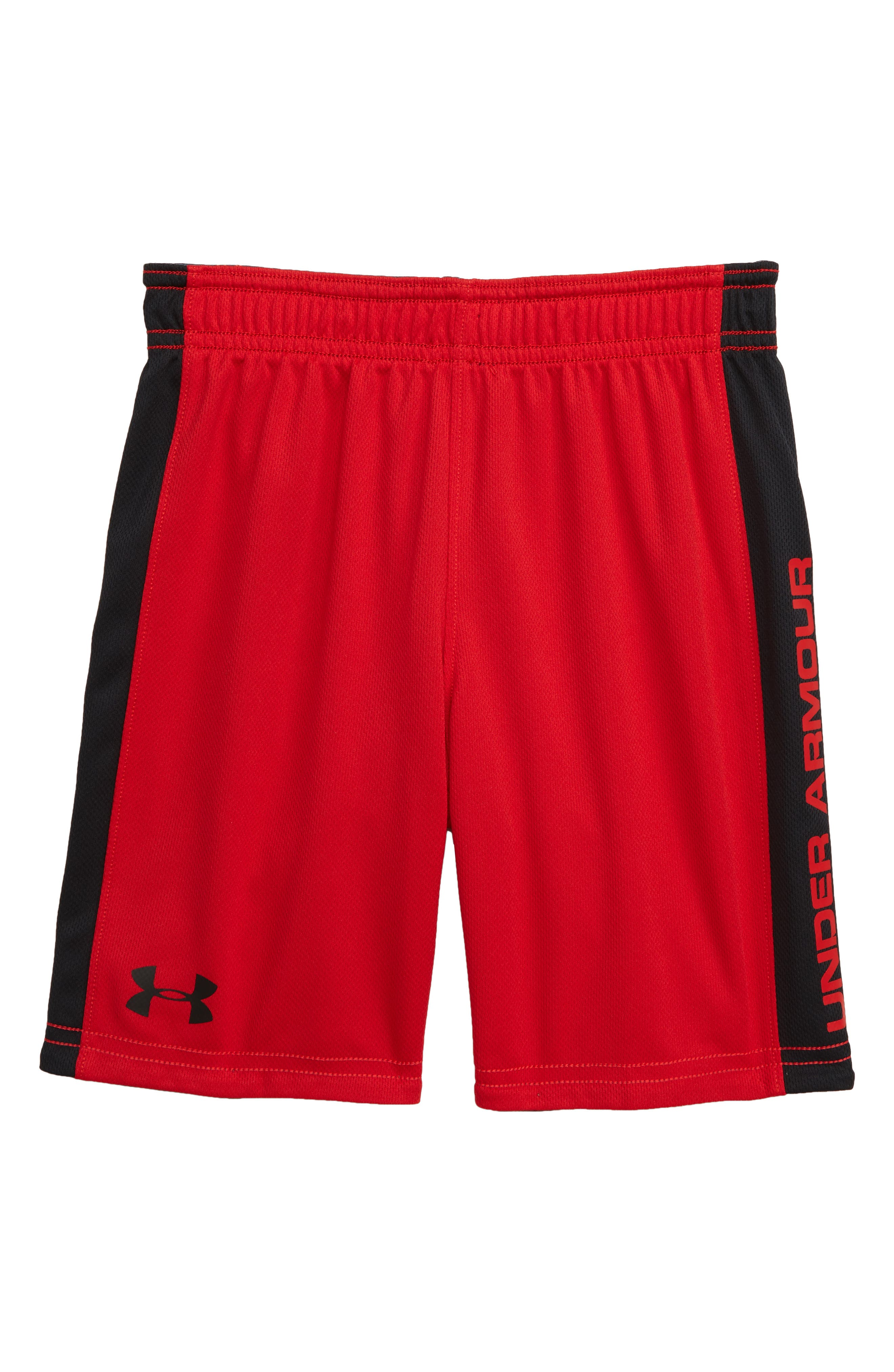 UNDER ARMOUR, Lined Up HeatGear<sup>®</sup> Reversible Shorts, Alternate thumbnail 2, color, PITCH GRAY