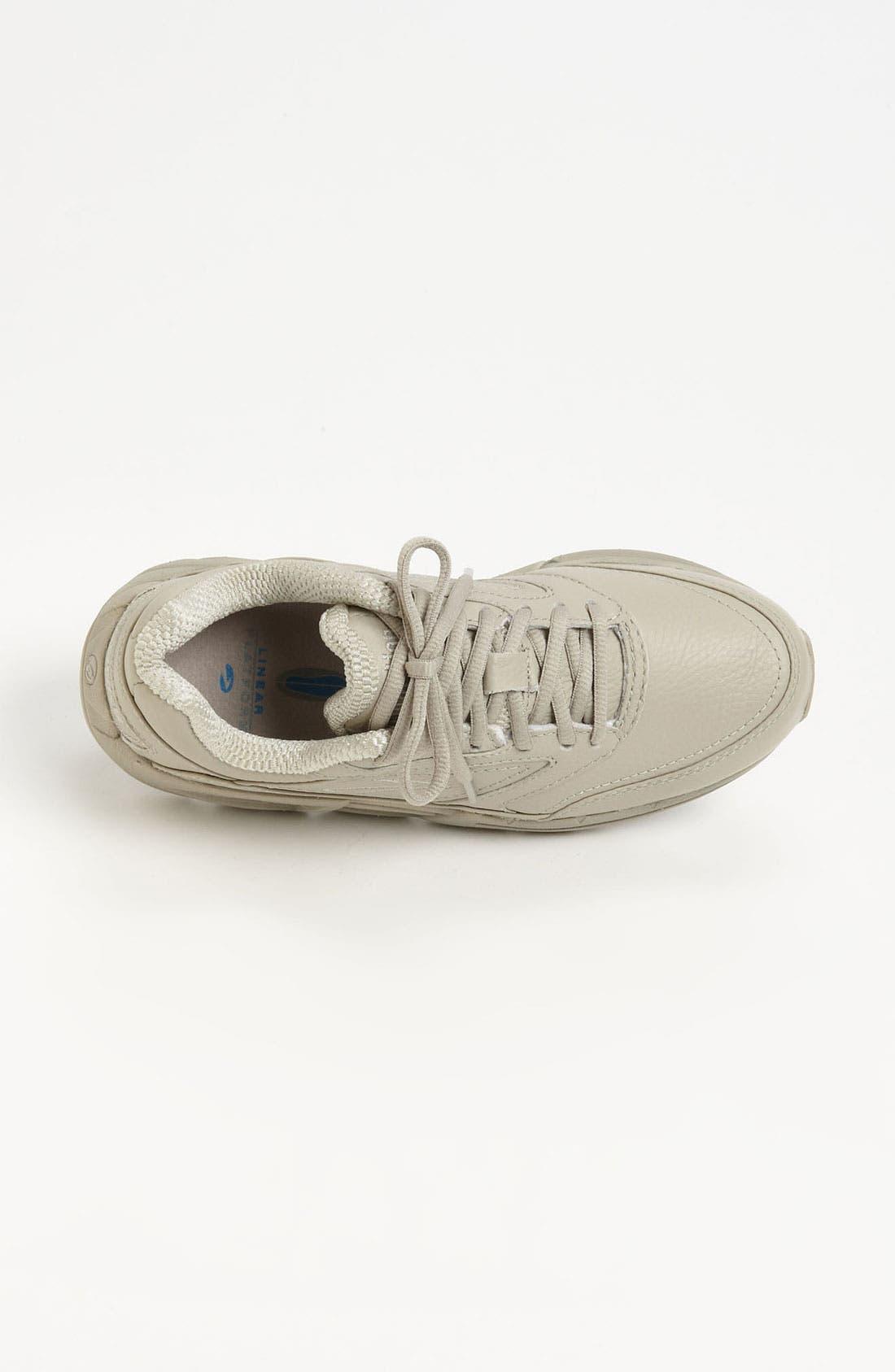 BROOKS, 'Addiction' Walking Shoe, Alternate thumbnail 3, color, IVORY