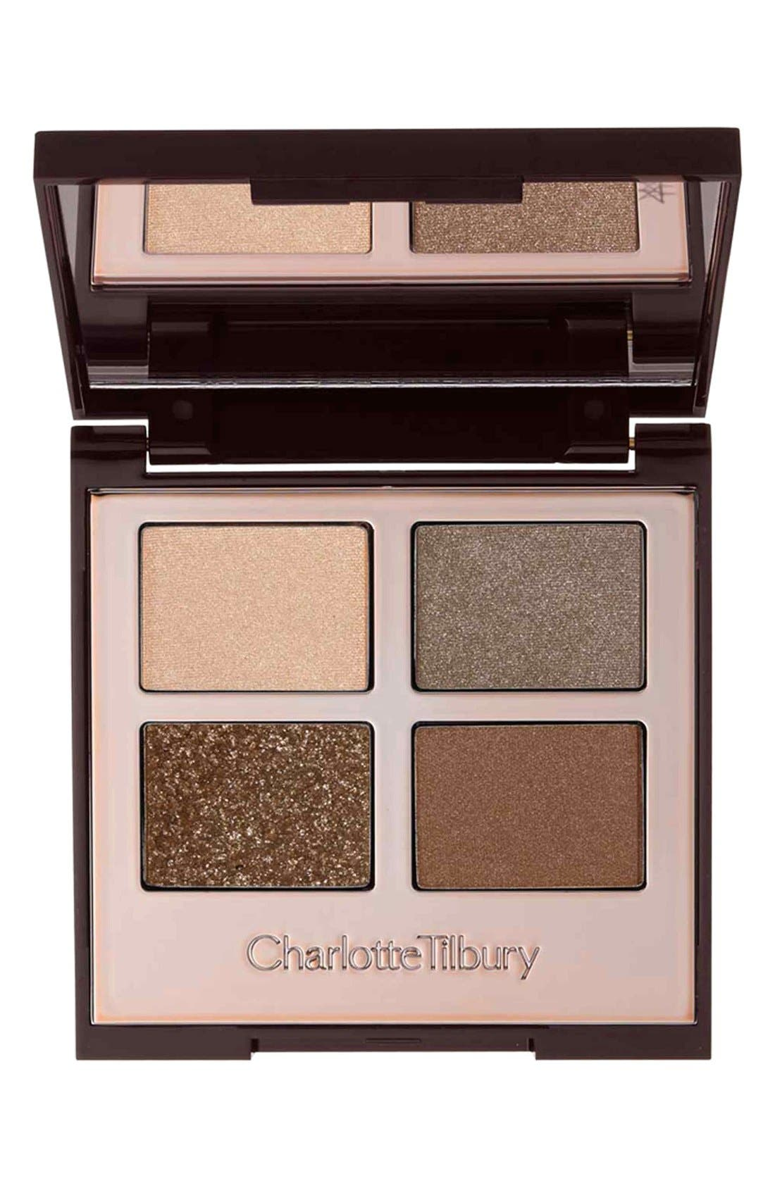How to do Vintage Style Makeup : 1920s, 1930s, 1940s, 1950s Charlotte Tilbury Luxury Eyeshadow Palette - The Golden Goddess $53.00 AT vintagedancer.com