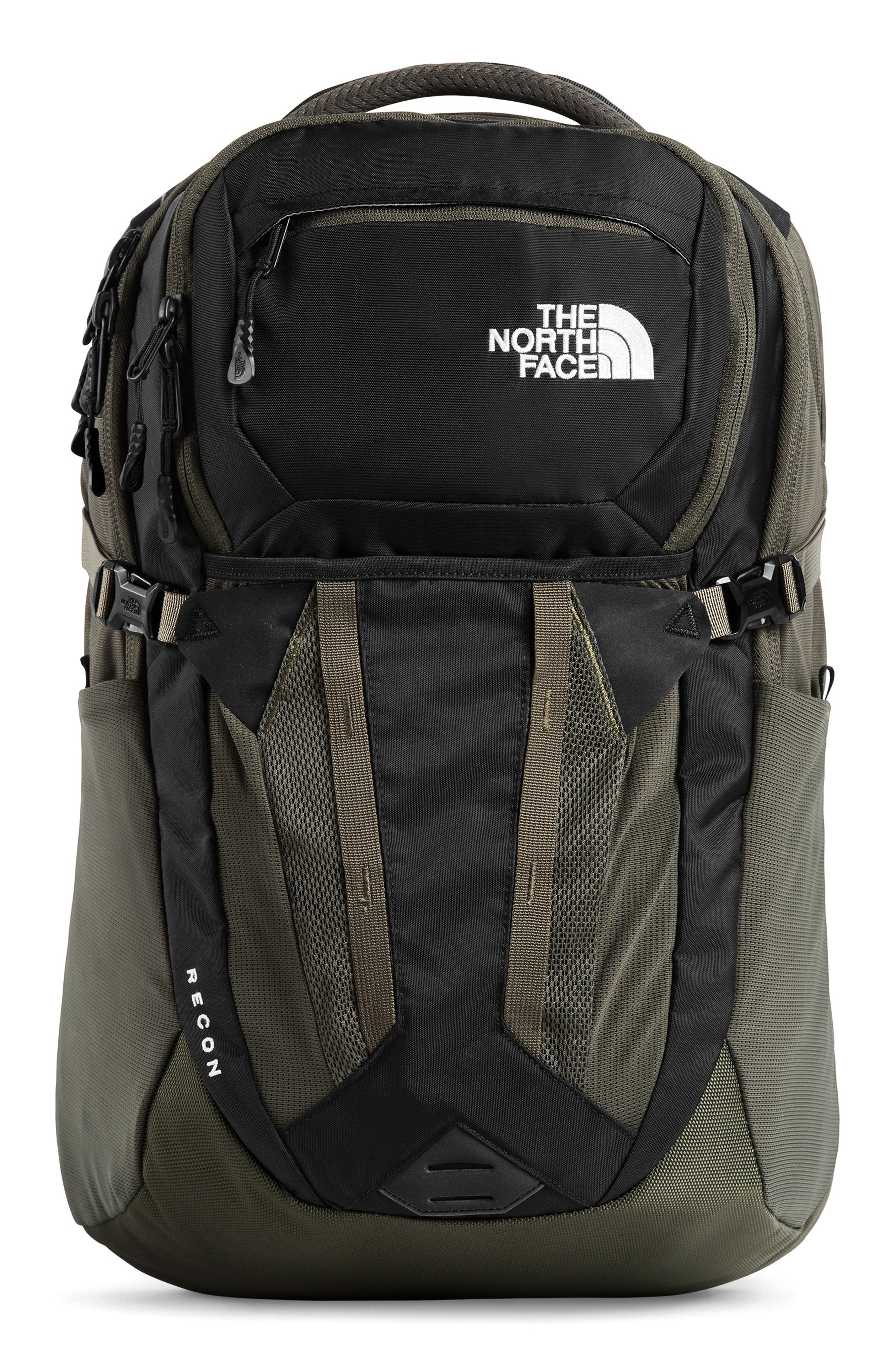 THE NORTH FACE Recon Backpack, Main, color, TNF BLACK/ NEW TAUPE GREEN