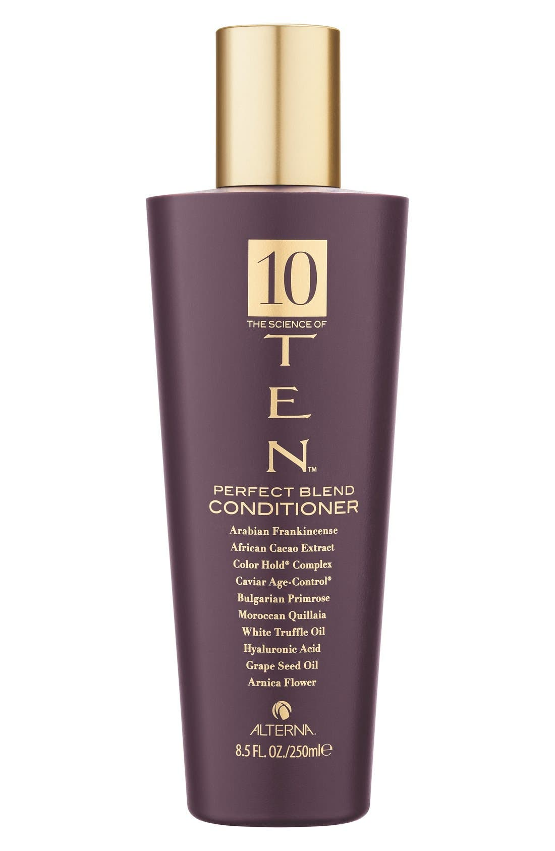 ALTERNA<SUP>®</SUP>, 'The Science of TEN<sup>™</sup>' Perfect Blend Conditioner, Main thumbnail 1, color, NO COLOR