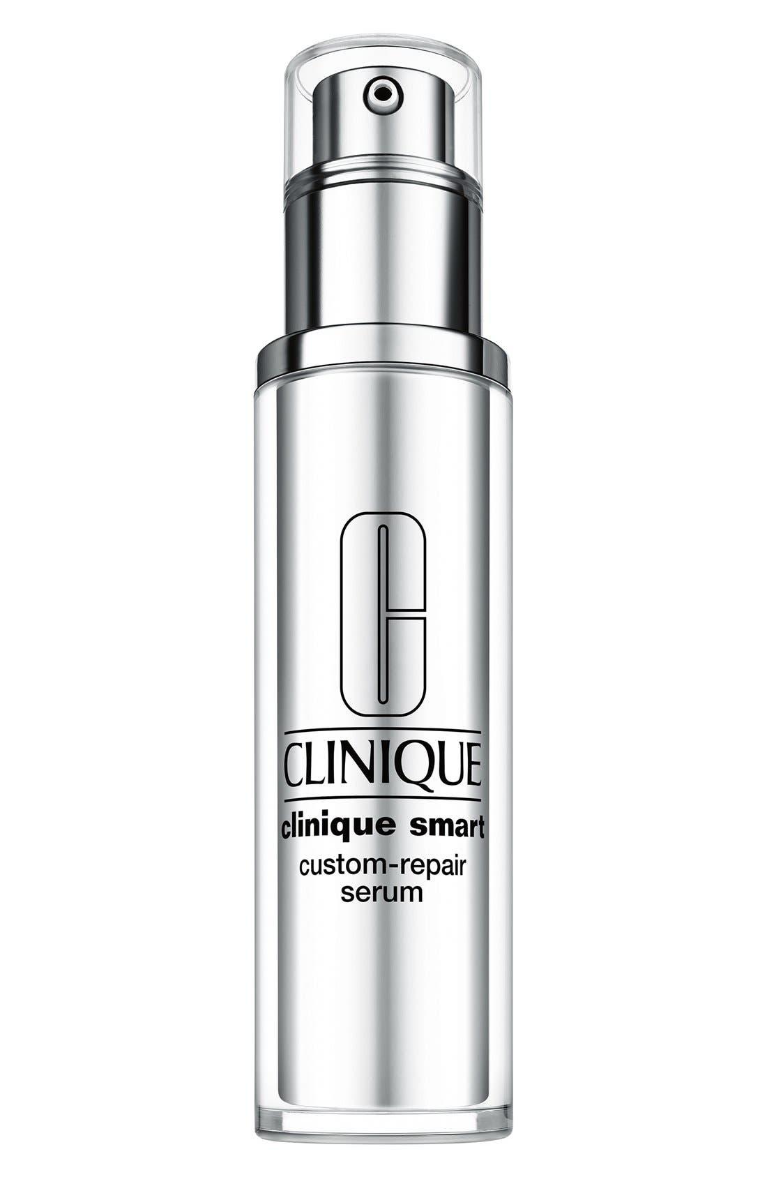 CLINIQUE, Smart Custom-Repair Serum, Main thumbnail 1, color, NO COLOR