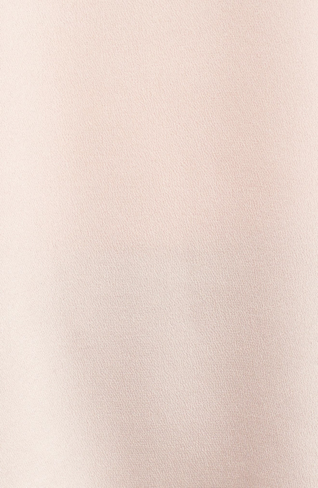 VINCE CAMUTO, Button Bell Sleeve Blouse, Alternate thumbnail 5, color, ROSE BUFF