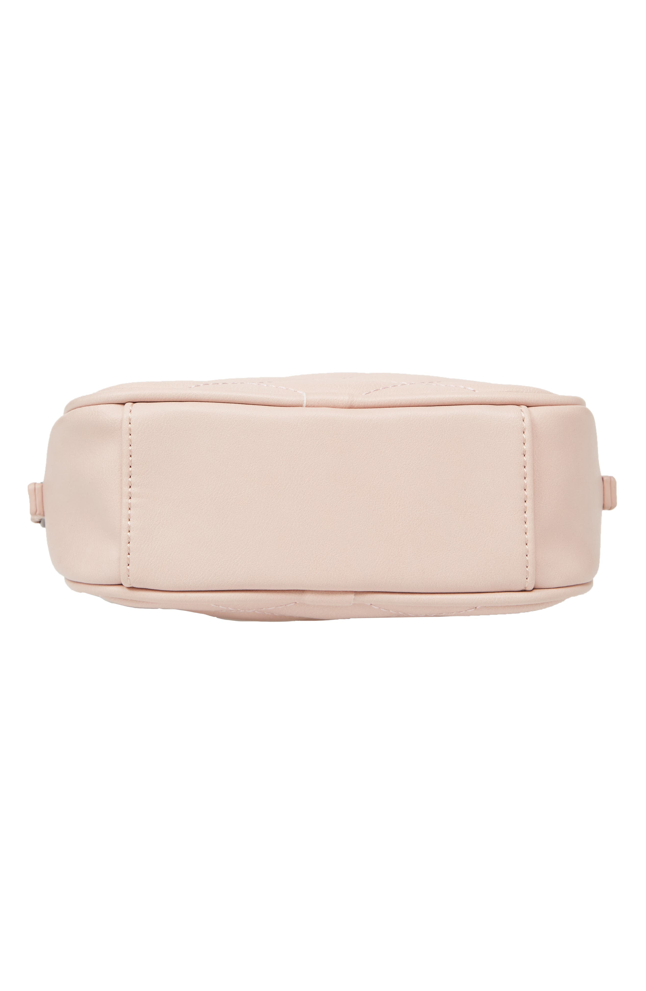 MALI + LILI, Taylor Quilted Vegan Leather Crossbody Camera Bag, Alternate thumbnail 7, color, 650