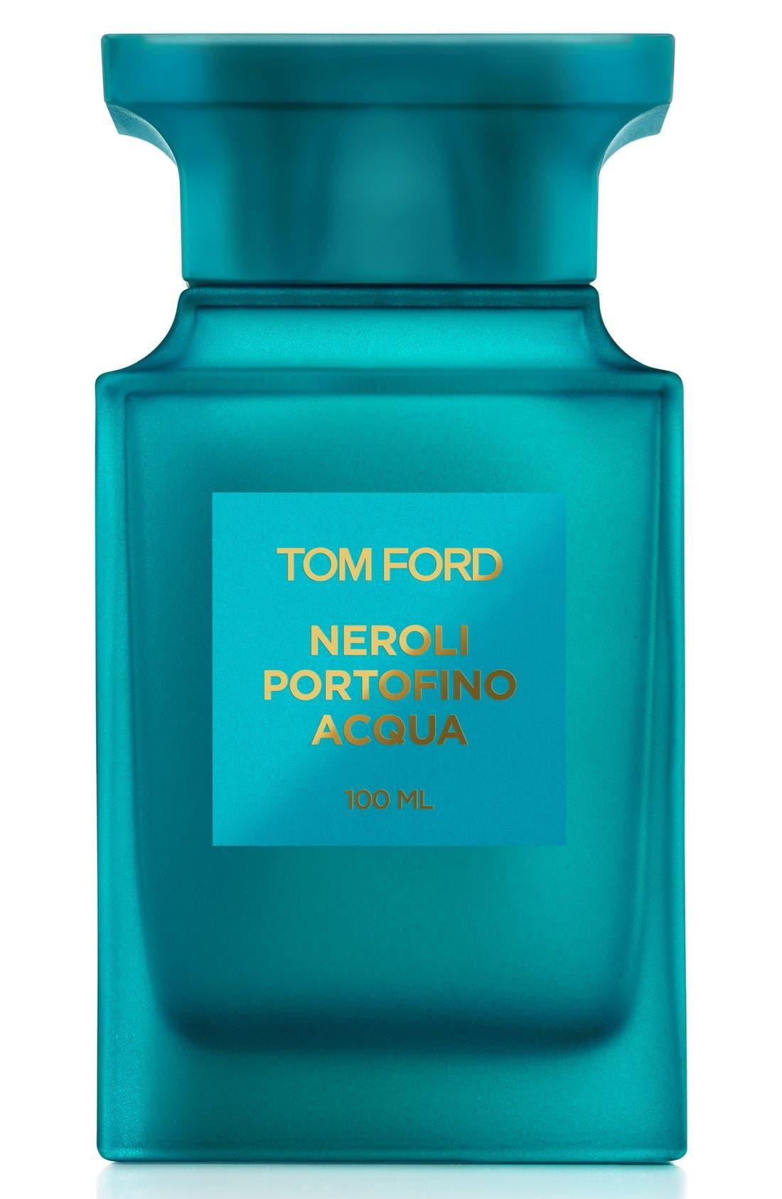 TOM FORD, Private Blend Neroli Portofino Acqua Eau de Toilette, Alternate thumbnail 3, color, NO COLOR