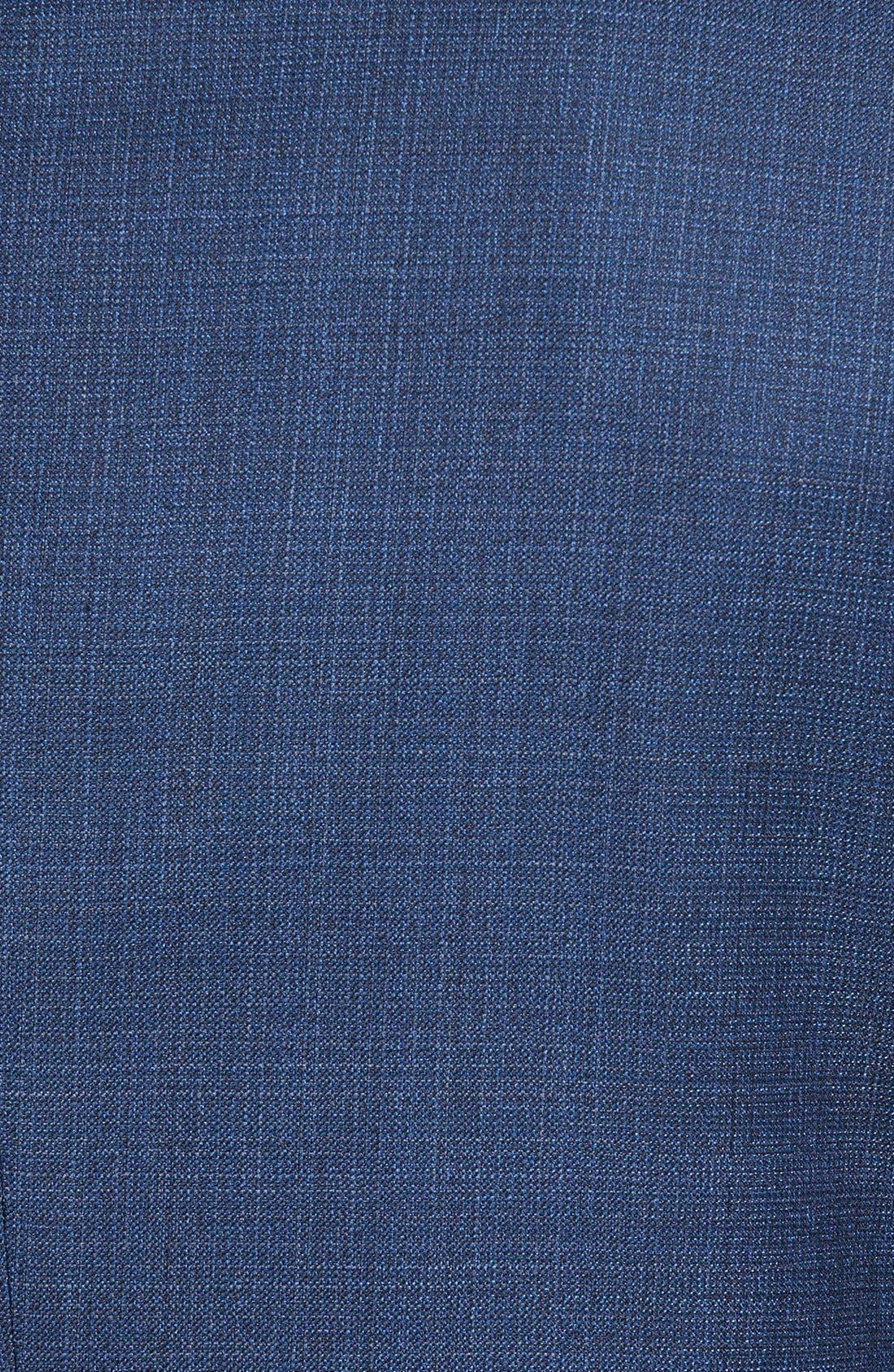 ZZDNUHUGO BOSS, BOSS 'Jeen' Trim Fit Wool Blazer, Alternate thumbnail 4, color, 420
