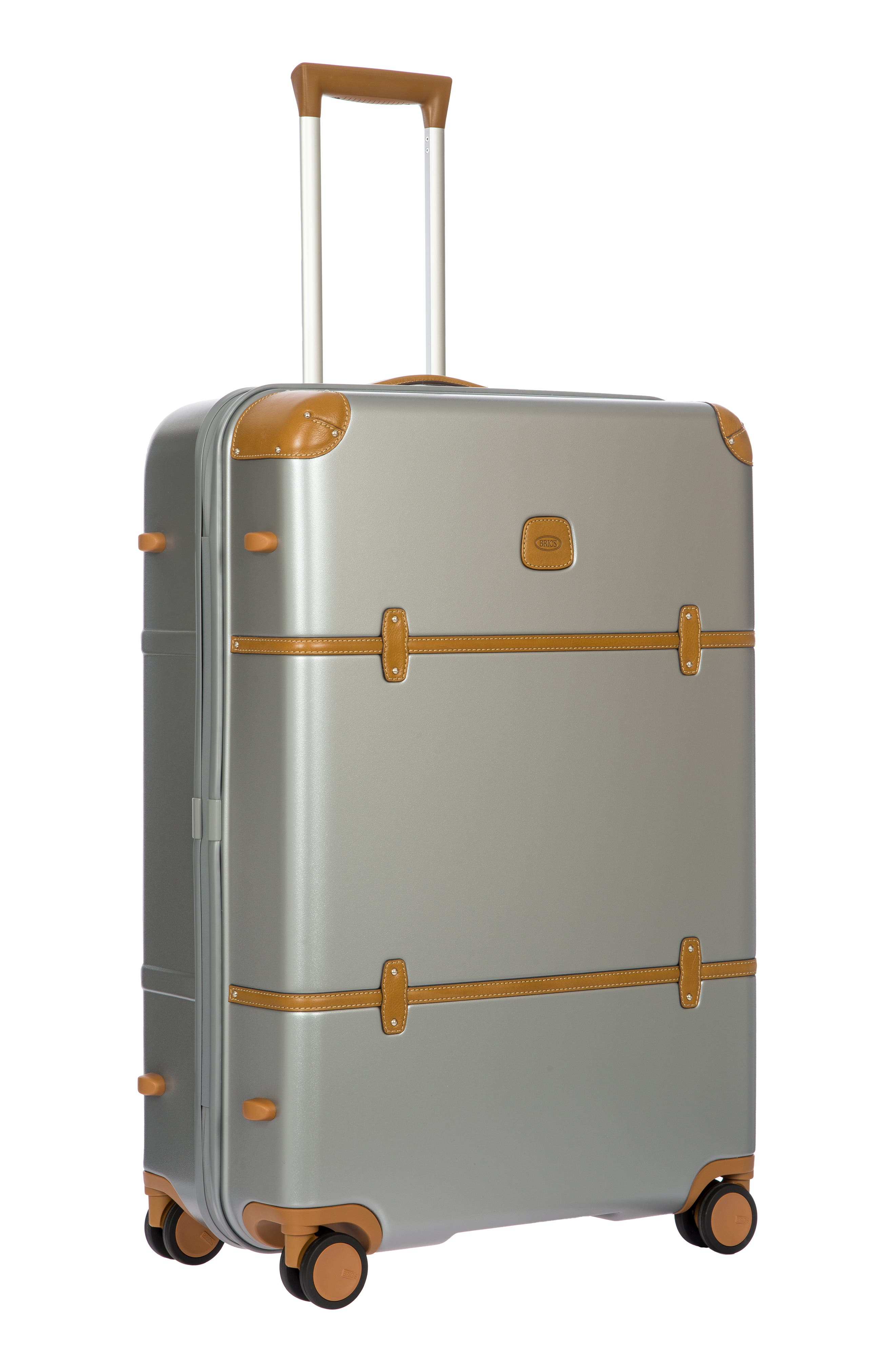 BRIC'S, Bellagio 2.0 30-Inch Rolling Spinner Suitcase, Alternate thumbnail 6, color, SILVER