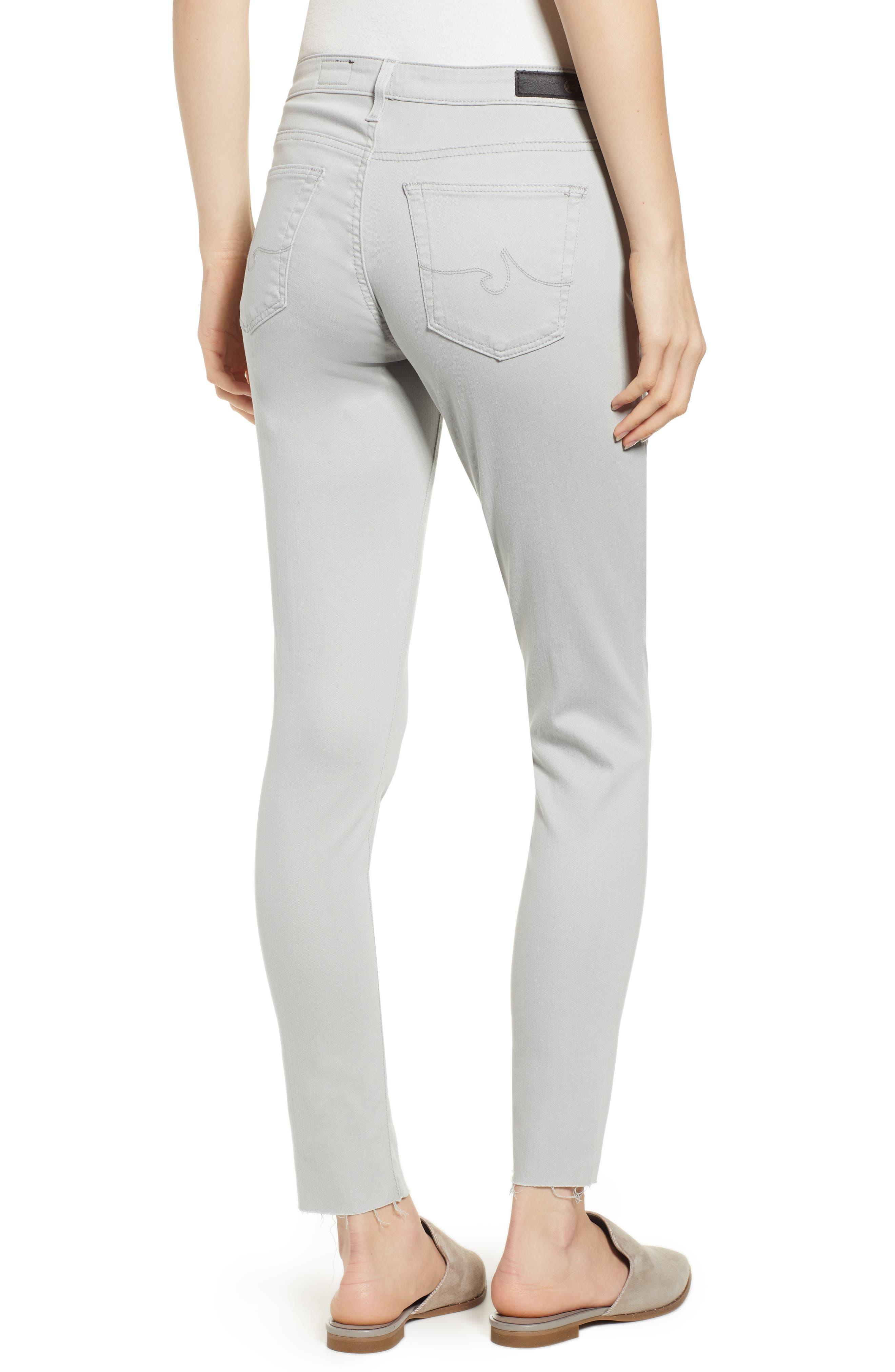AG, The Legging Ankle Super Skinny Jeans, Alternate thumbnail 2, color, MISTY MIRROR