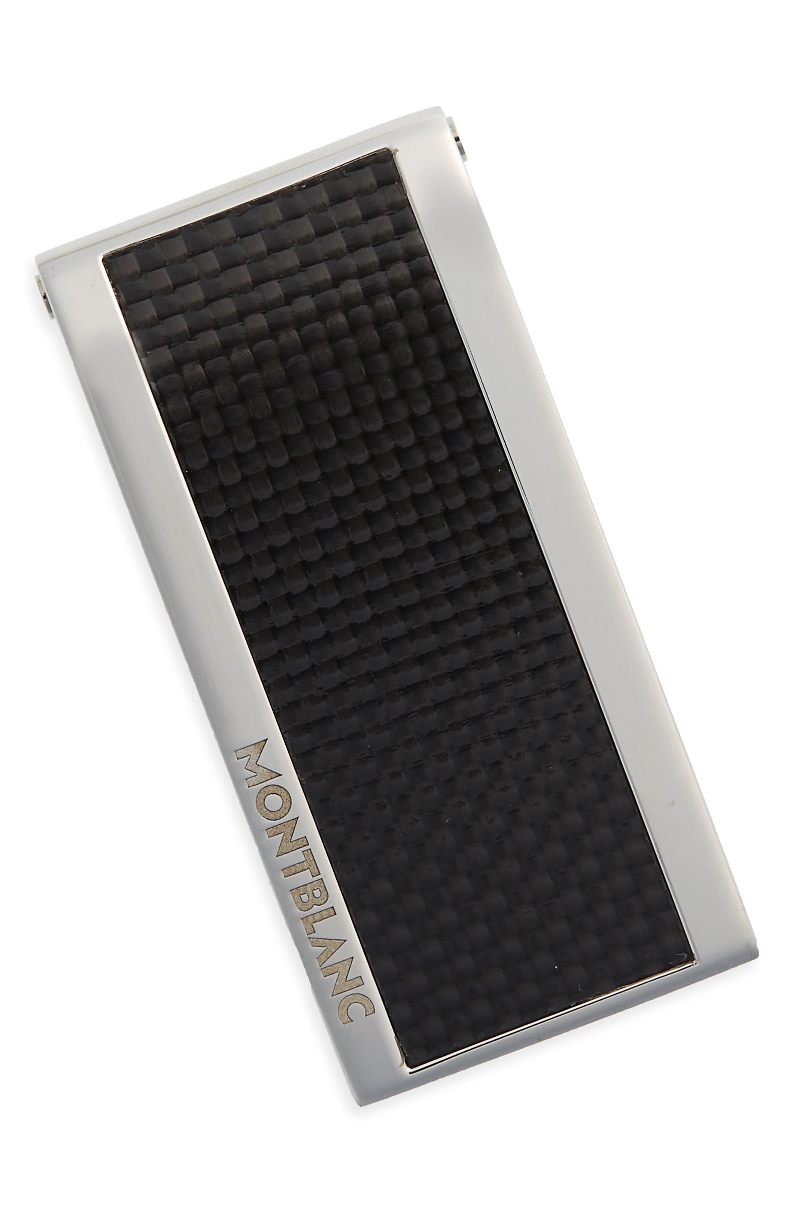 MONTBLANC Carbon Fiber Money Clip, Main, color, 040