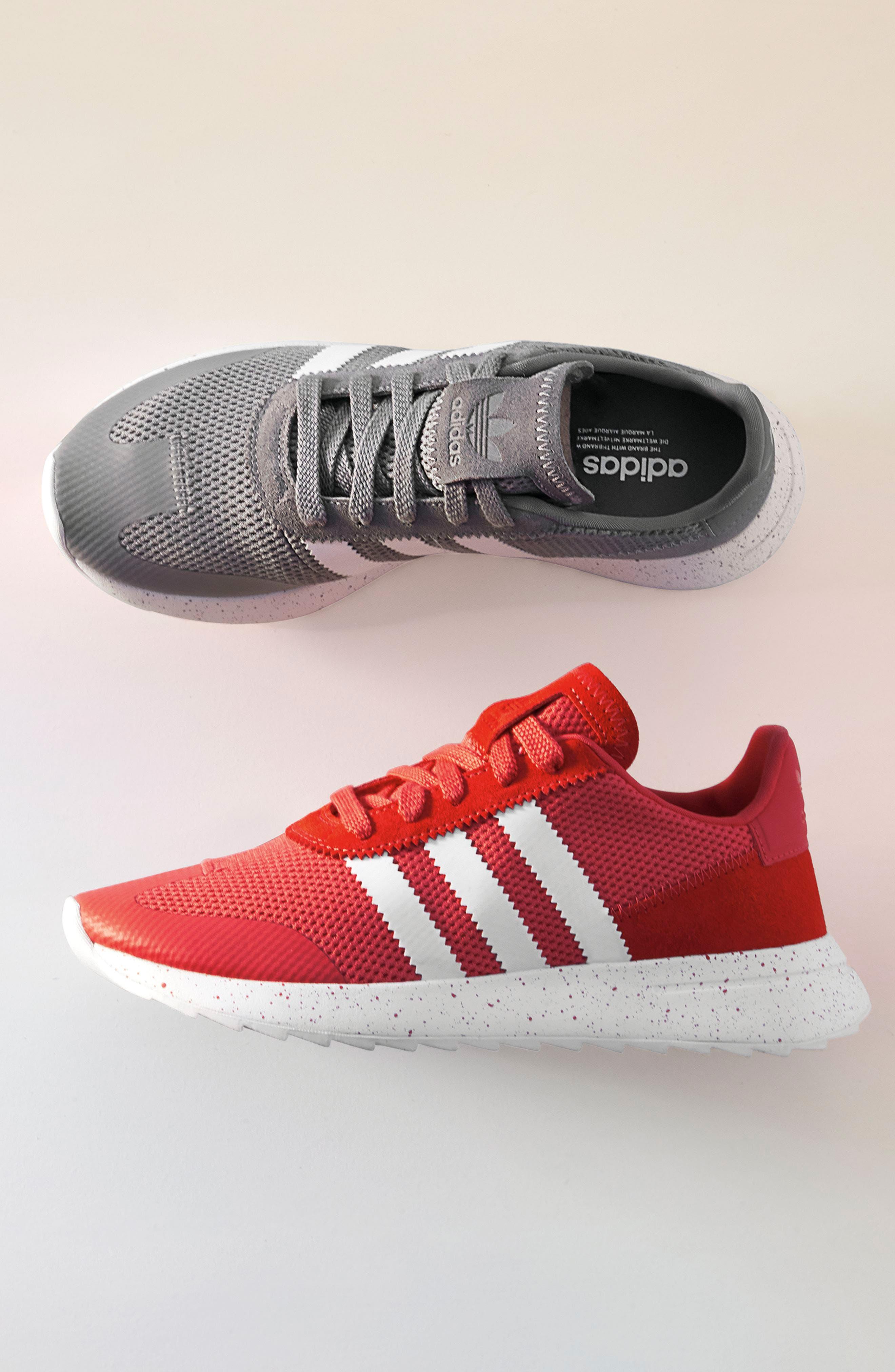 ADIDAS, Flashback Sneaker, Alternate thumbnail 8, color, 001