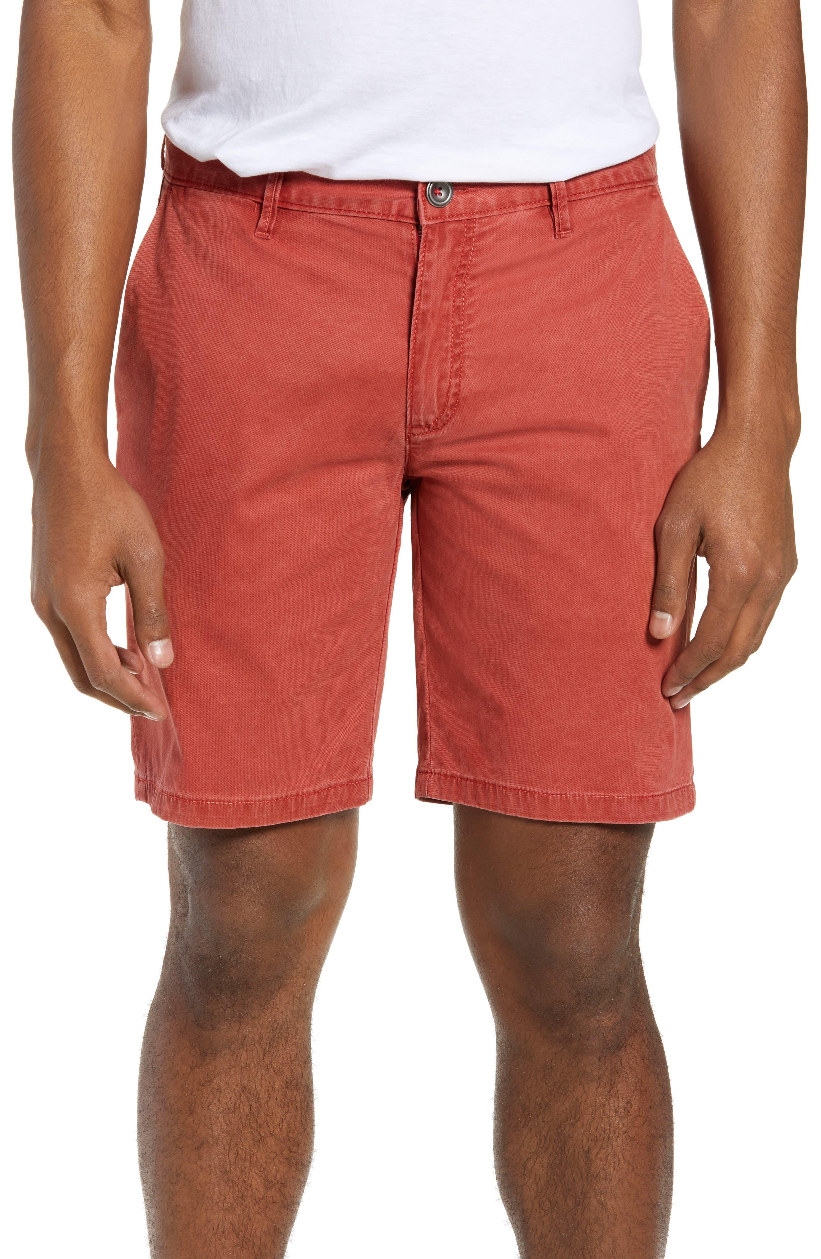 RODD & GUNN The Lakes Shorts, Main, color, POPPY