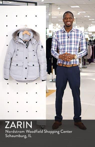 Debaies Genuine Fox Fur Trim Down Jacket, sales video thumbnail