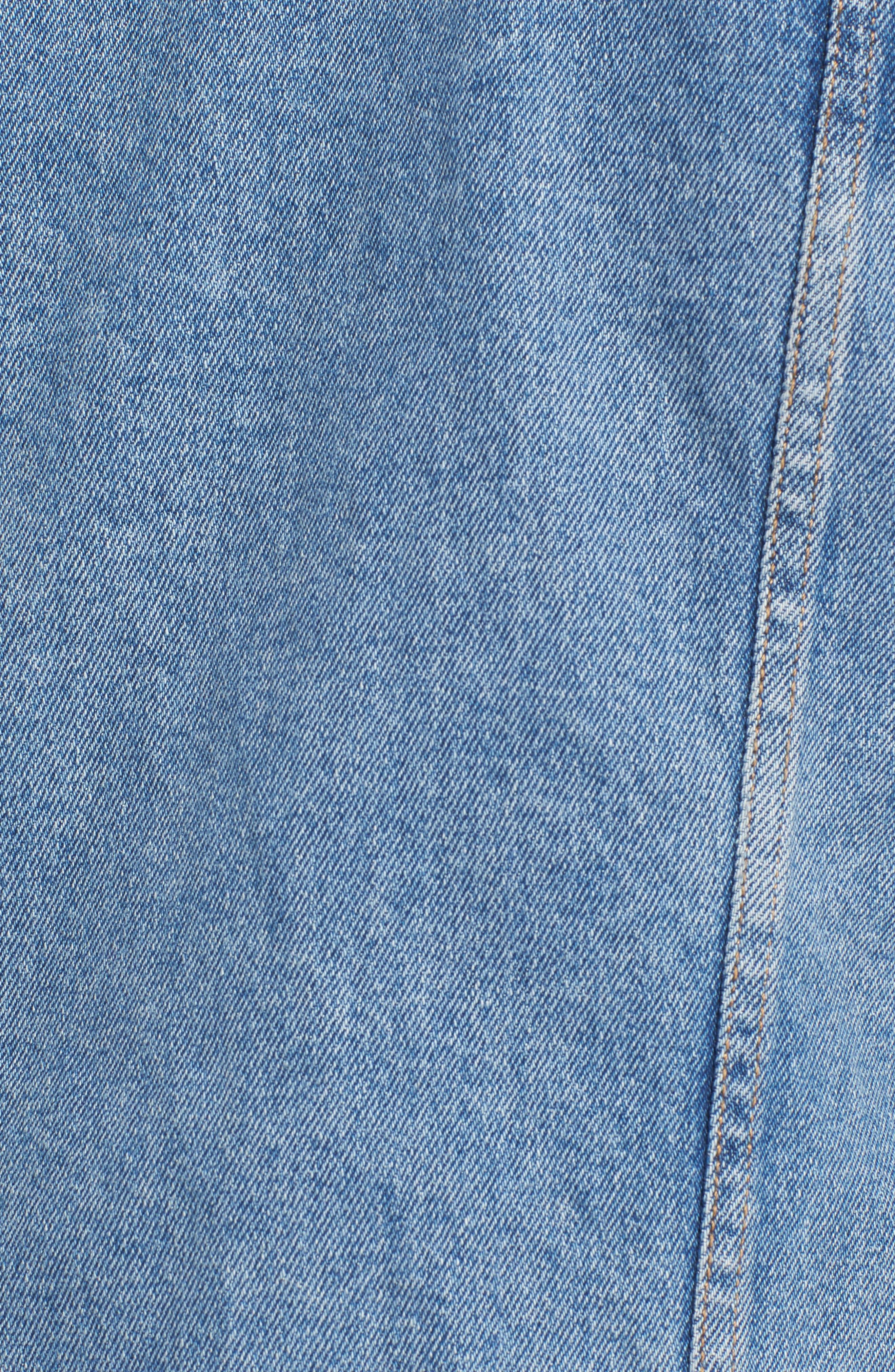 LEVI'S<SUP>®</SUP>, Original Denim Trucker Jacket, Alternate thumbnail 7, color, 420